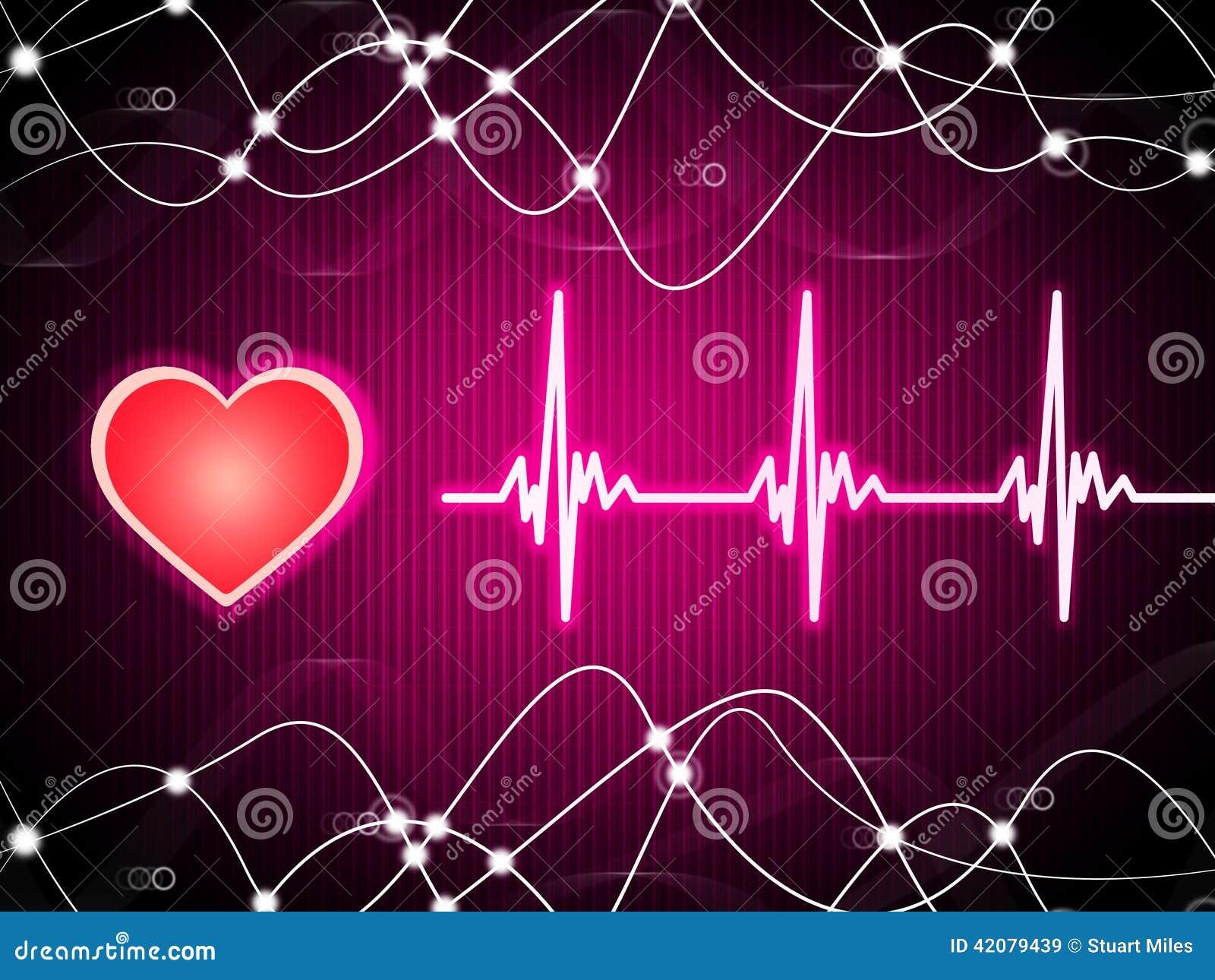 Purple Heart tło Znaczy tętno sprawność fizyczną Heli I kopię