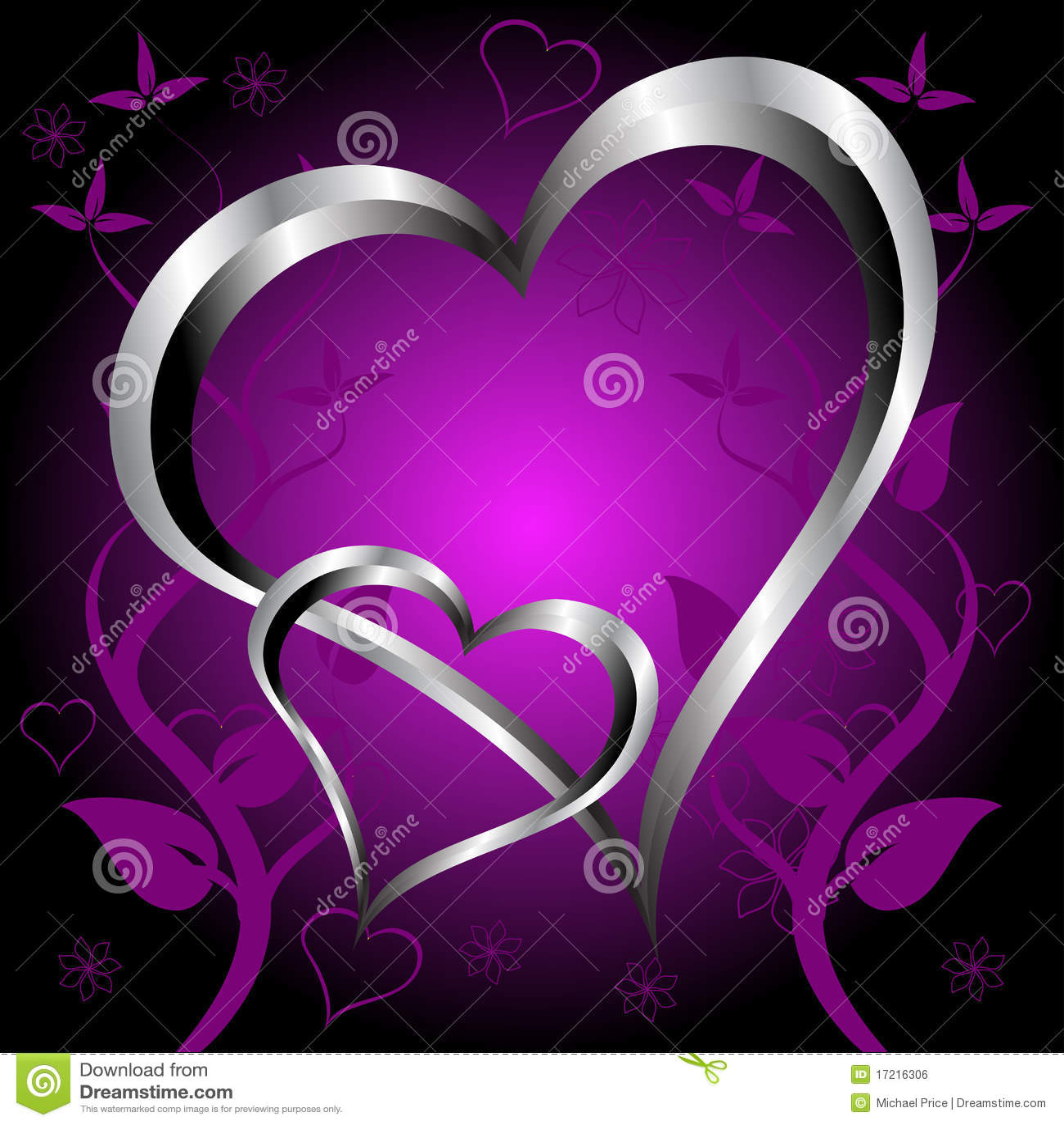 purple love valentine day - photo #19