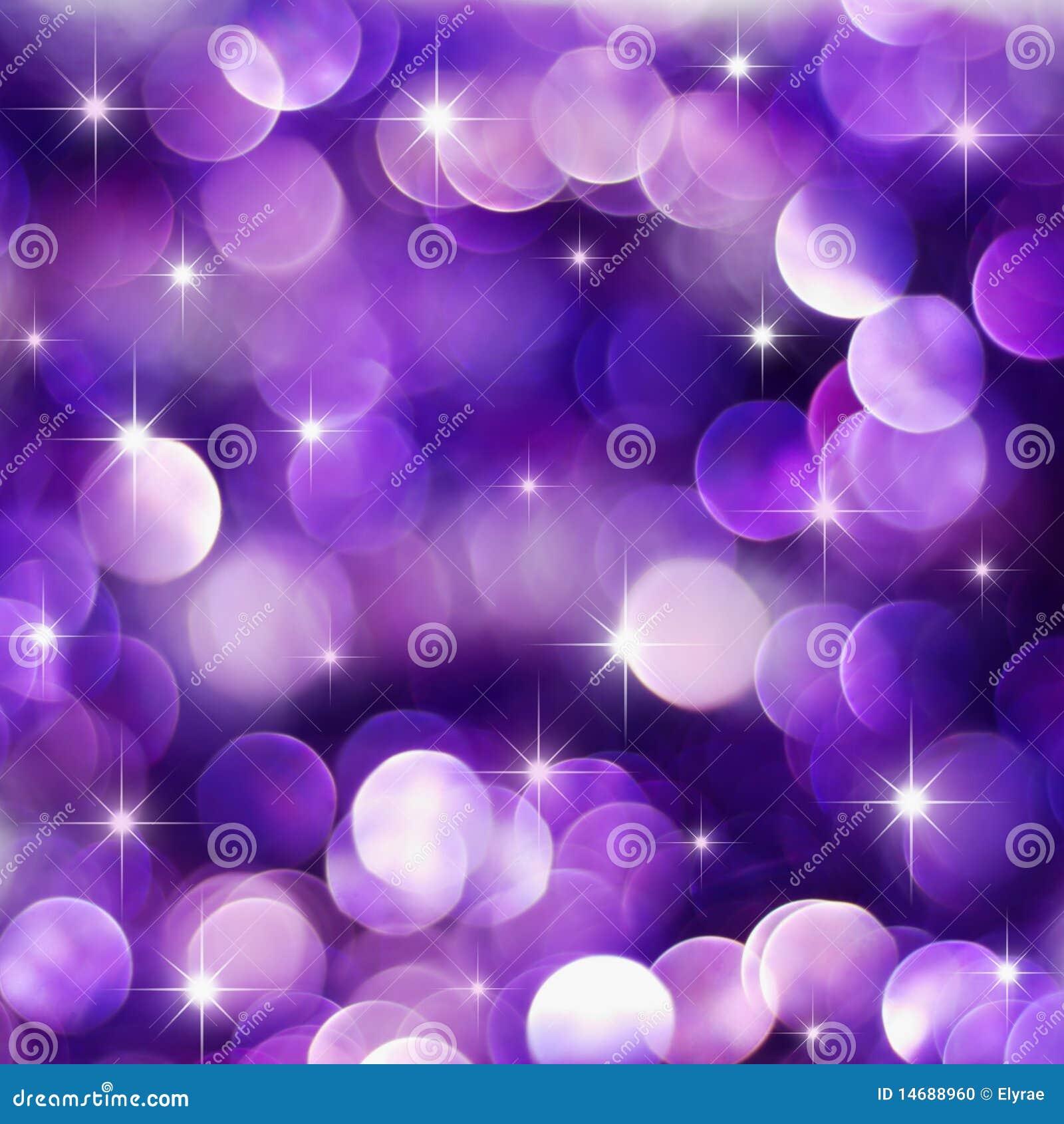 Purple holiday lights
