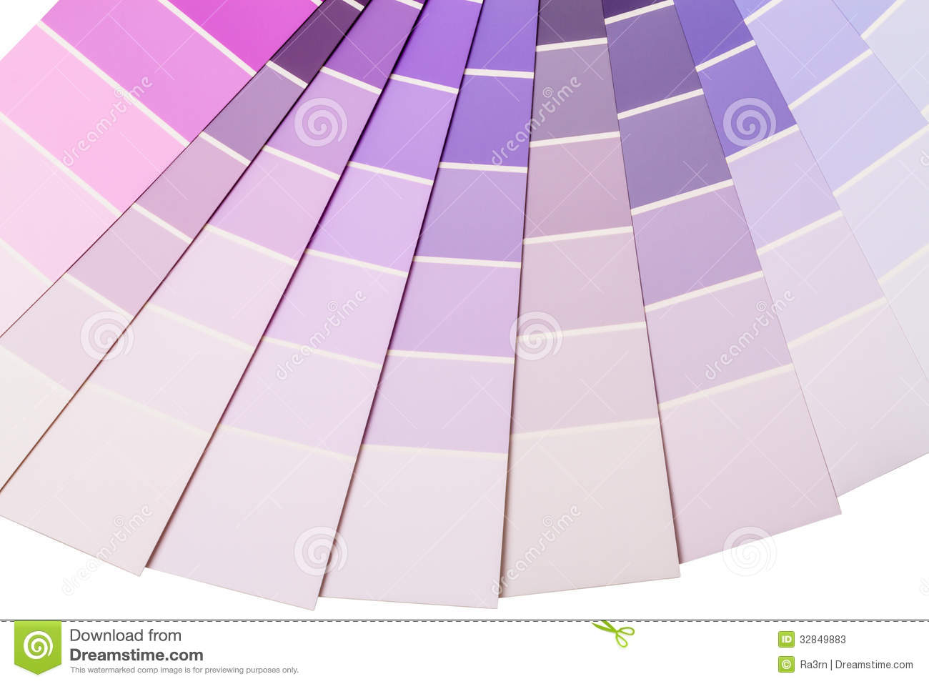 Purple And Lilac Color Range Stock Image Image 32849883