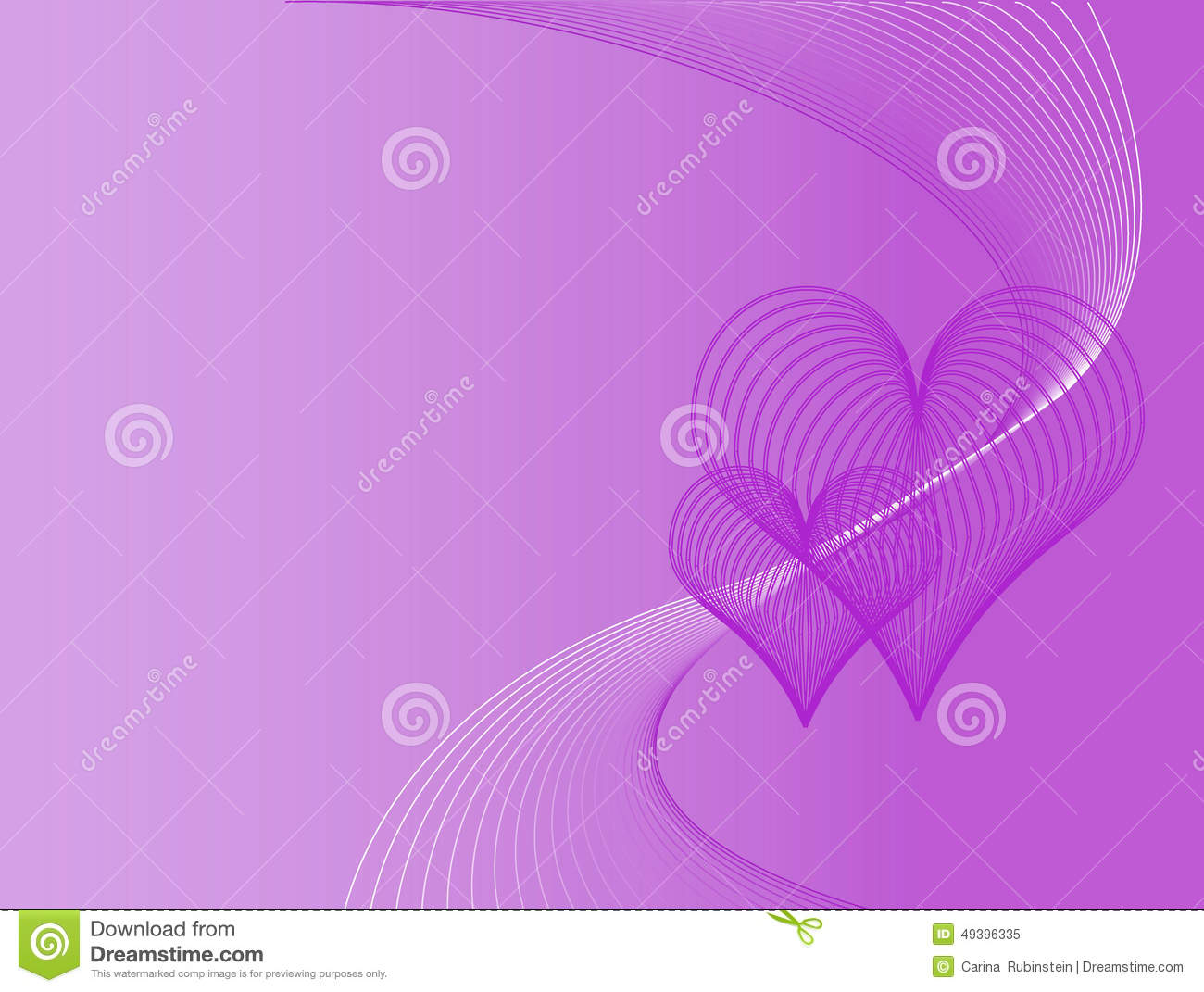 purple love background stock vector image 49396335