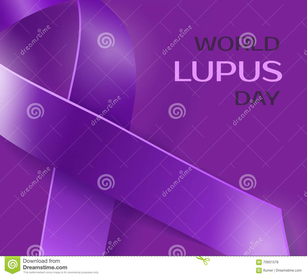 Purple lupus awareness ribbon background stock illustration purple lupus awareness ribbon background biocorpaavc Image collections