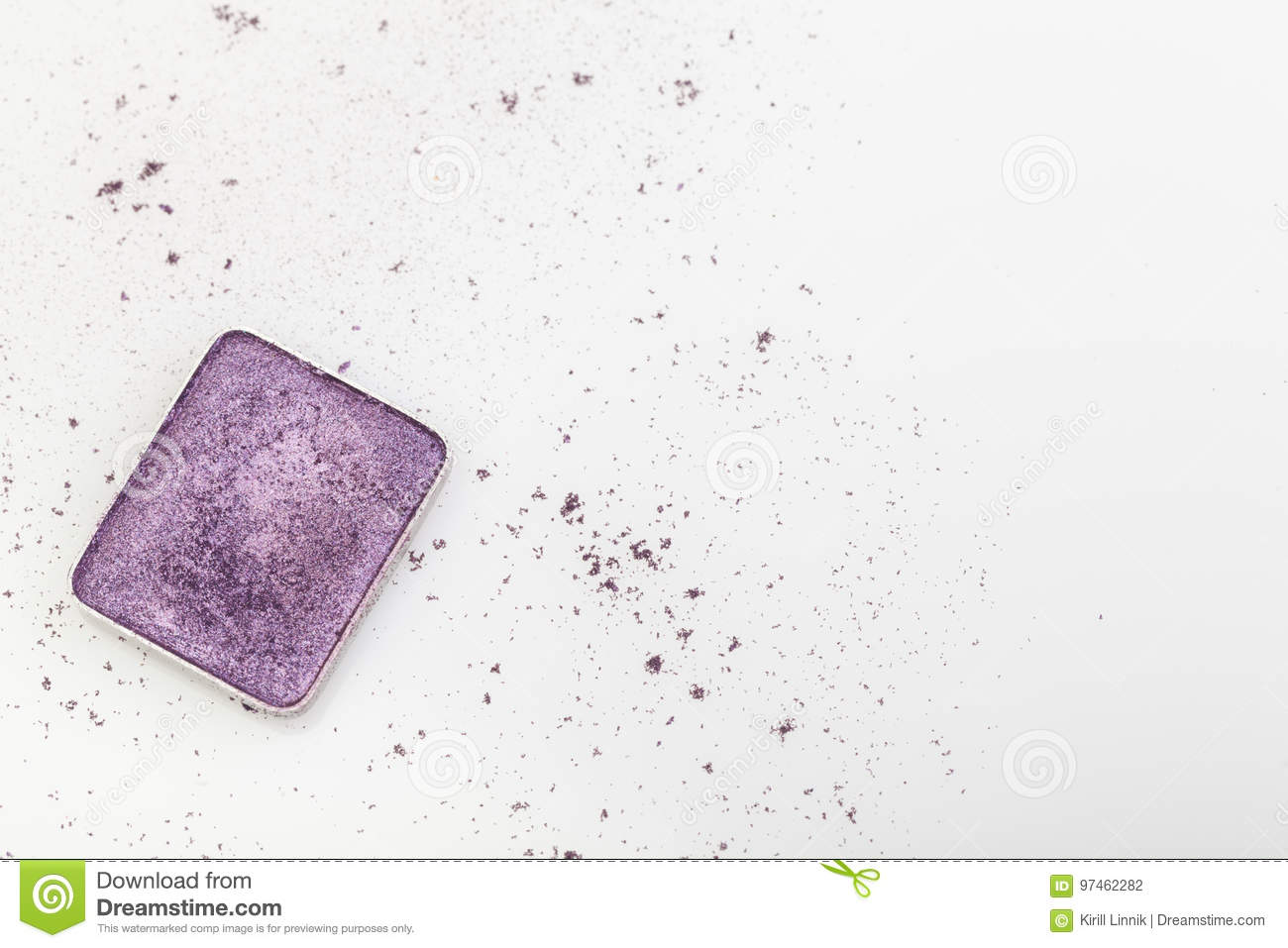 Download Purple make-up palette stock photo. Image of product - 97462282