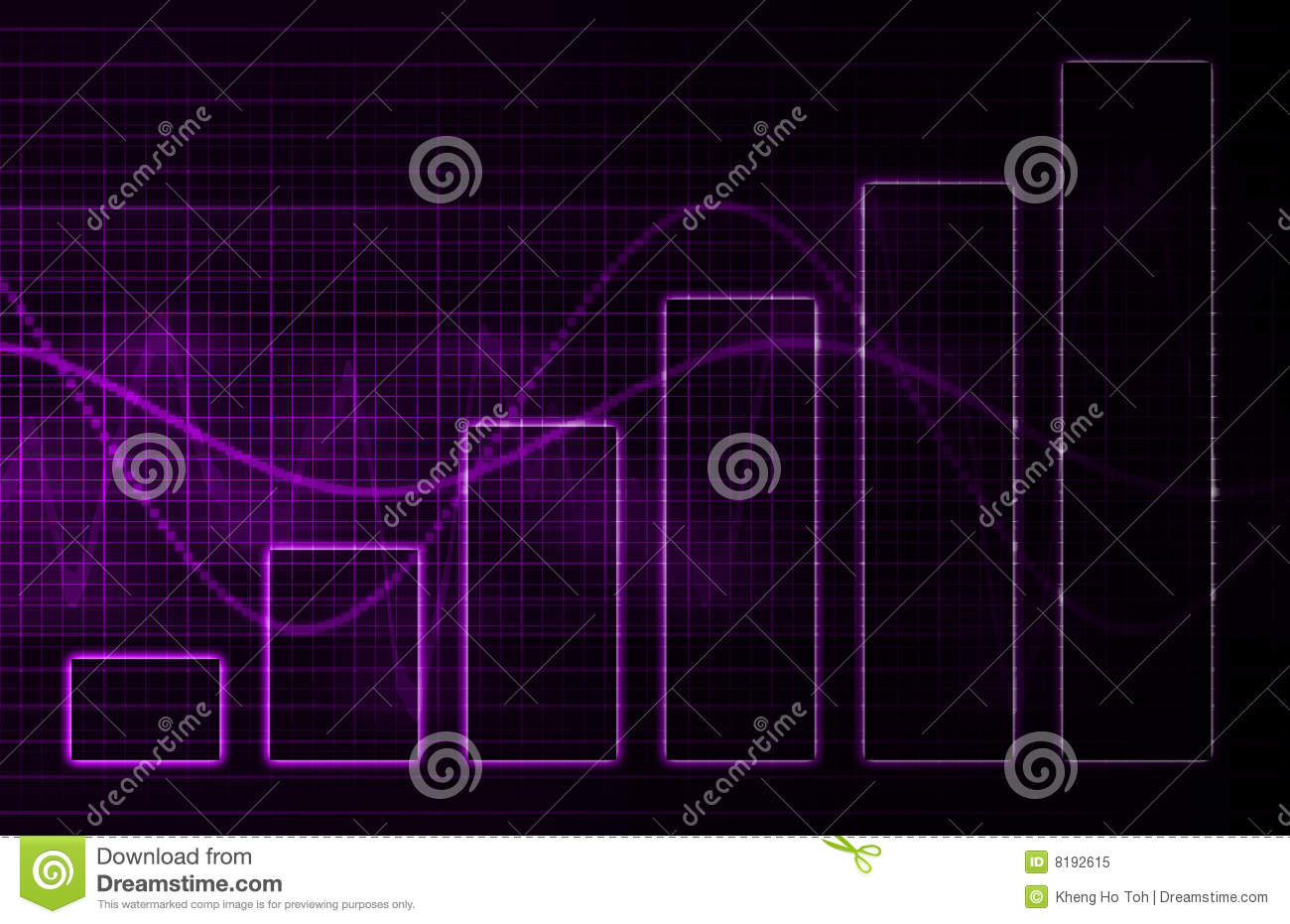 Purple Medical Science Technology Background