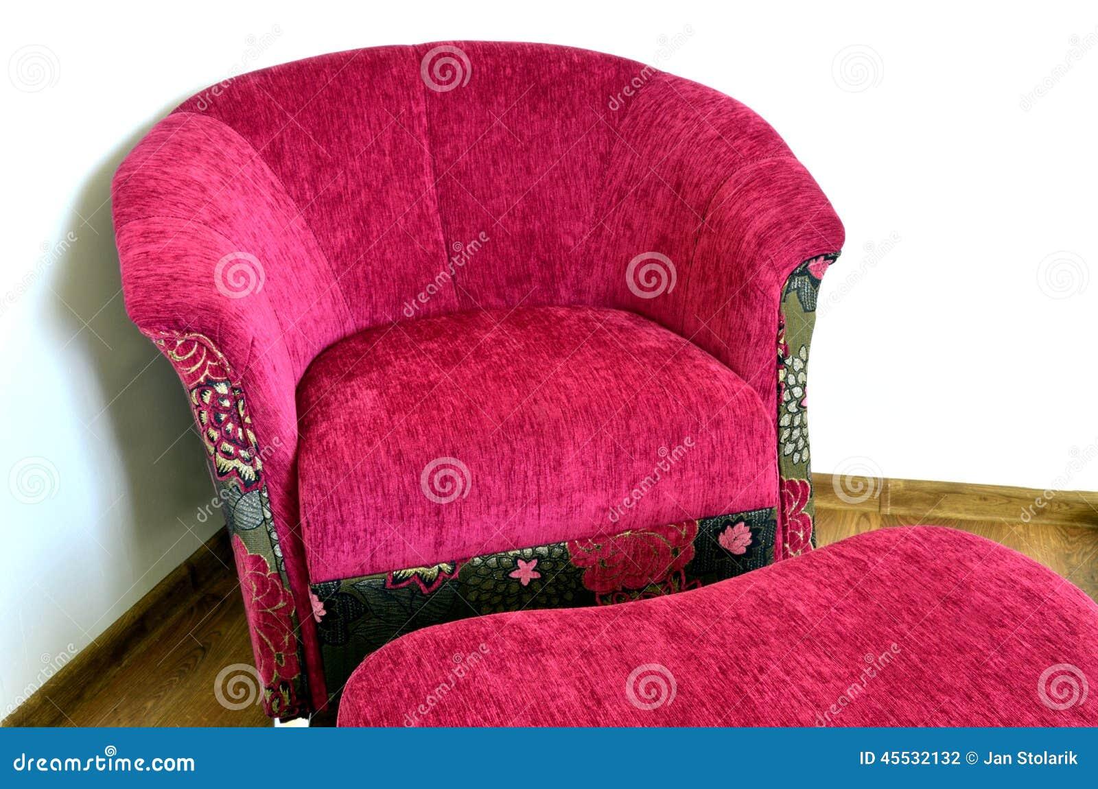 Purple Modern Chair Stock Photo Image Of Wall Floor 45532132
