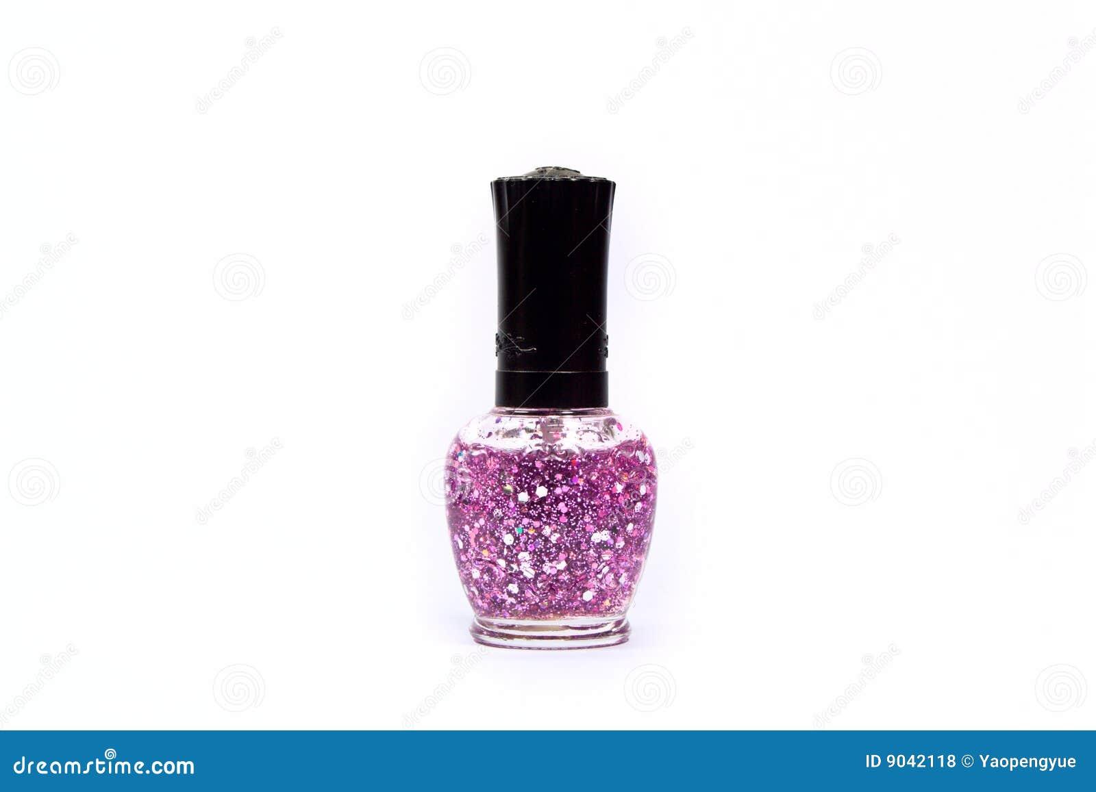 Purple Nail Polish Royalty Free Stock Photos - Image: 9042118