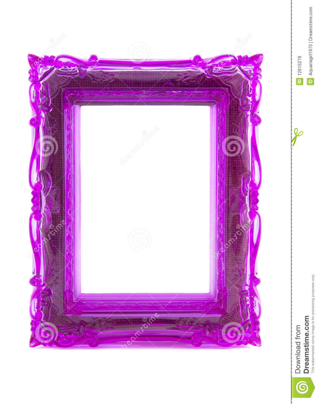 Purple Ornament Frame Royalty Free Stock Images Image