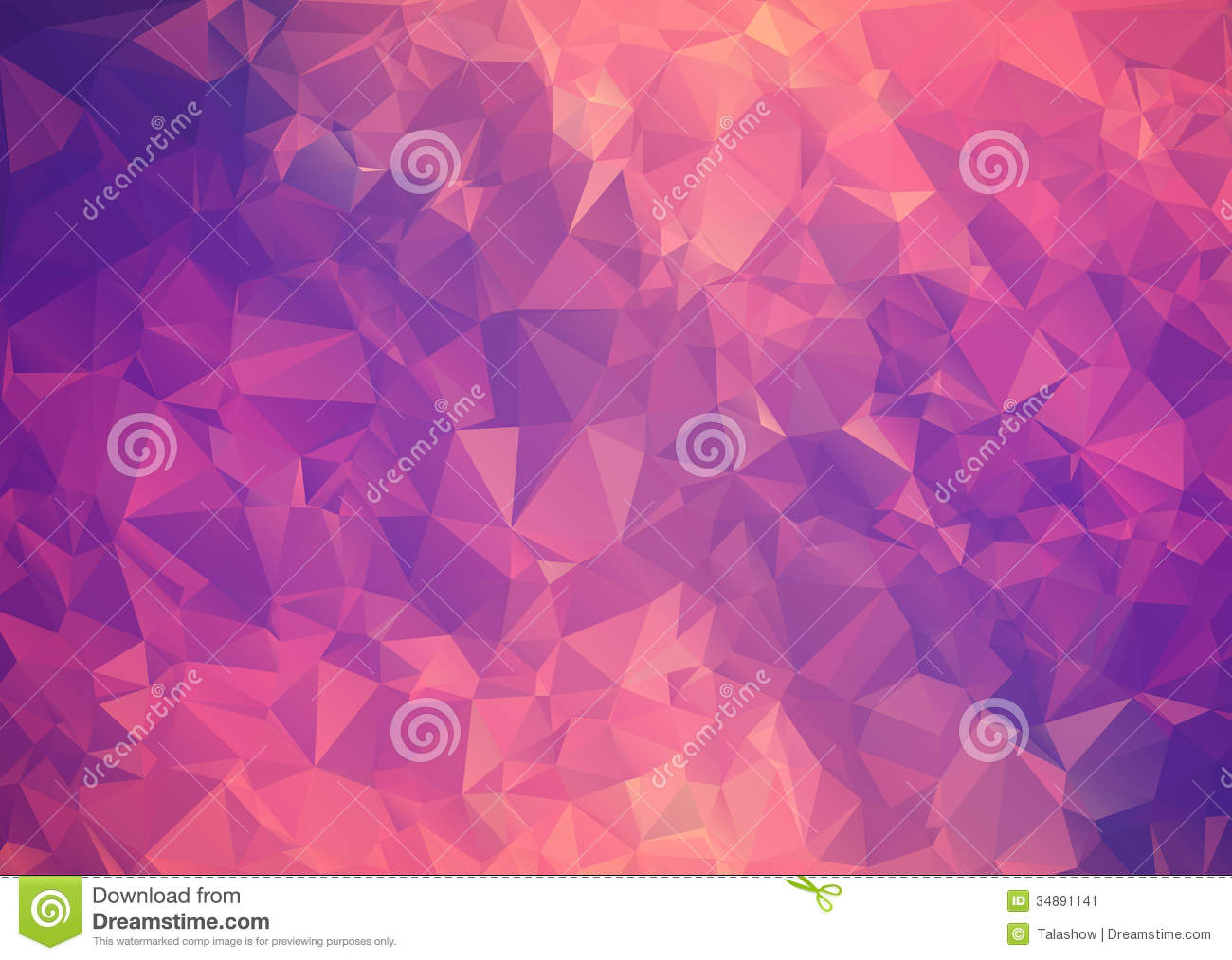 purple pink abstract background polygon stock image