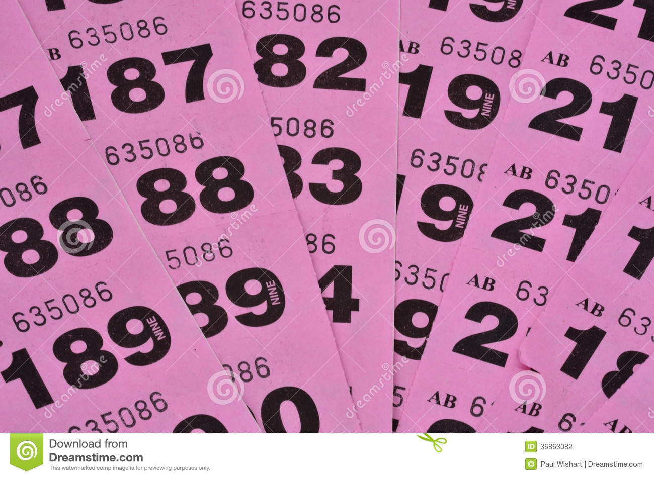 purple raffle tickets sp stock photography image  purple raffle tickets spread