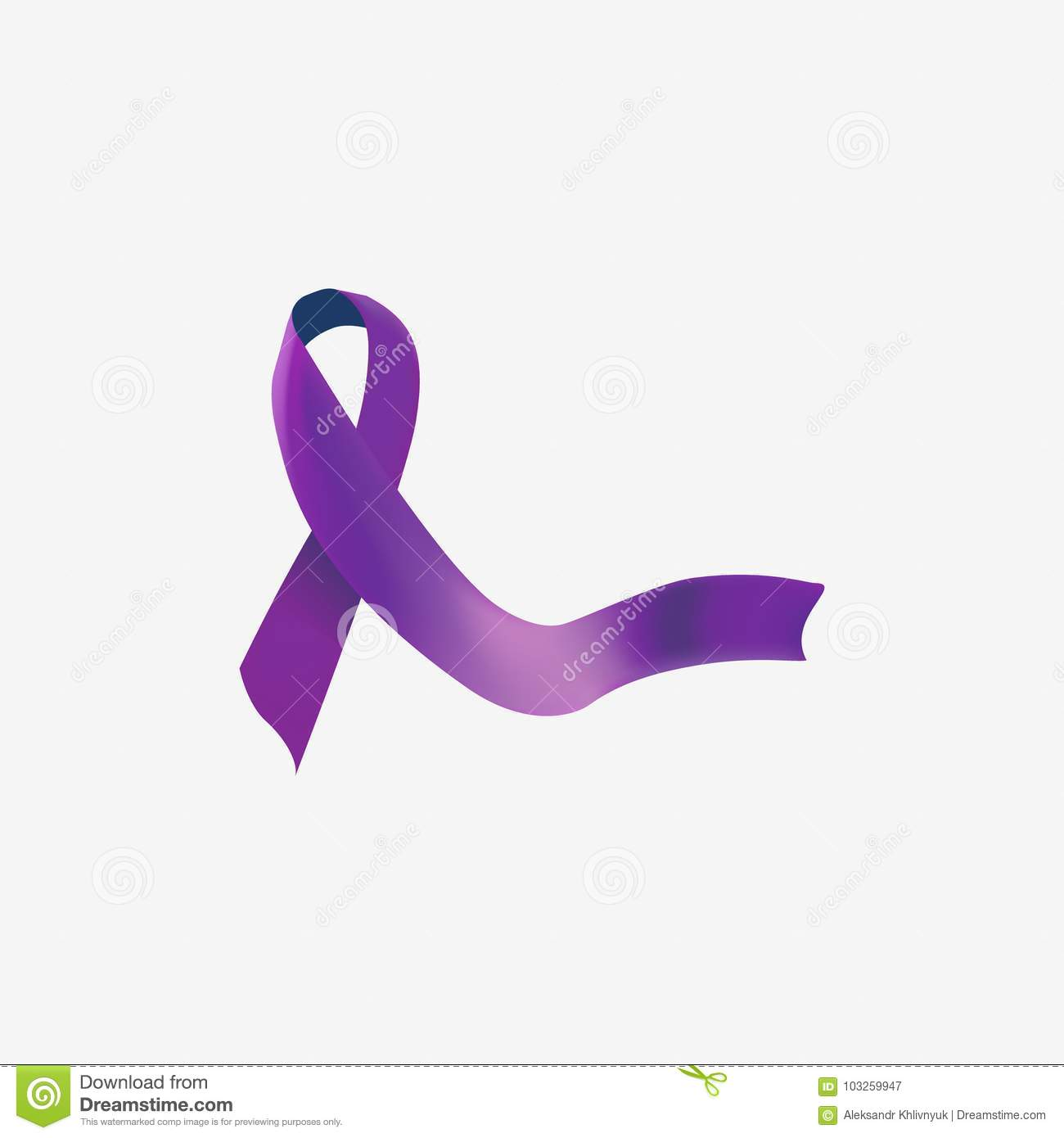Purple ribbon stock image image of campaign concern 103259947 royalty free stock photo biocorpaavc Images