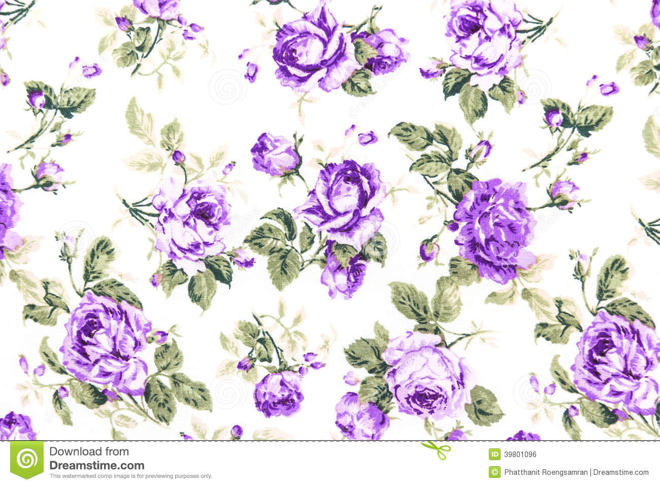 Purple vintage floral pattern - photo#18