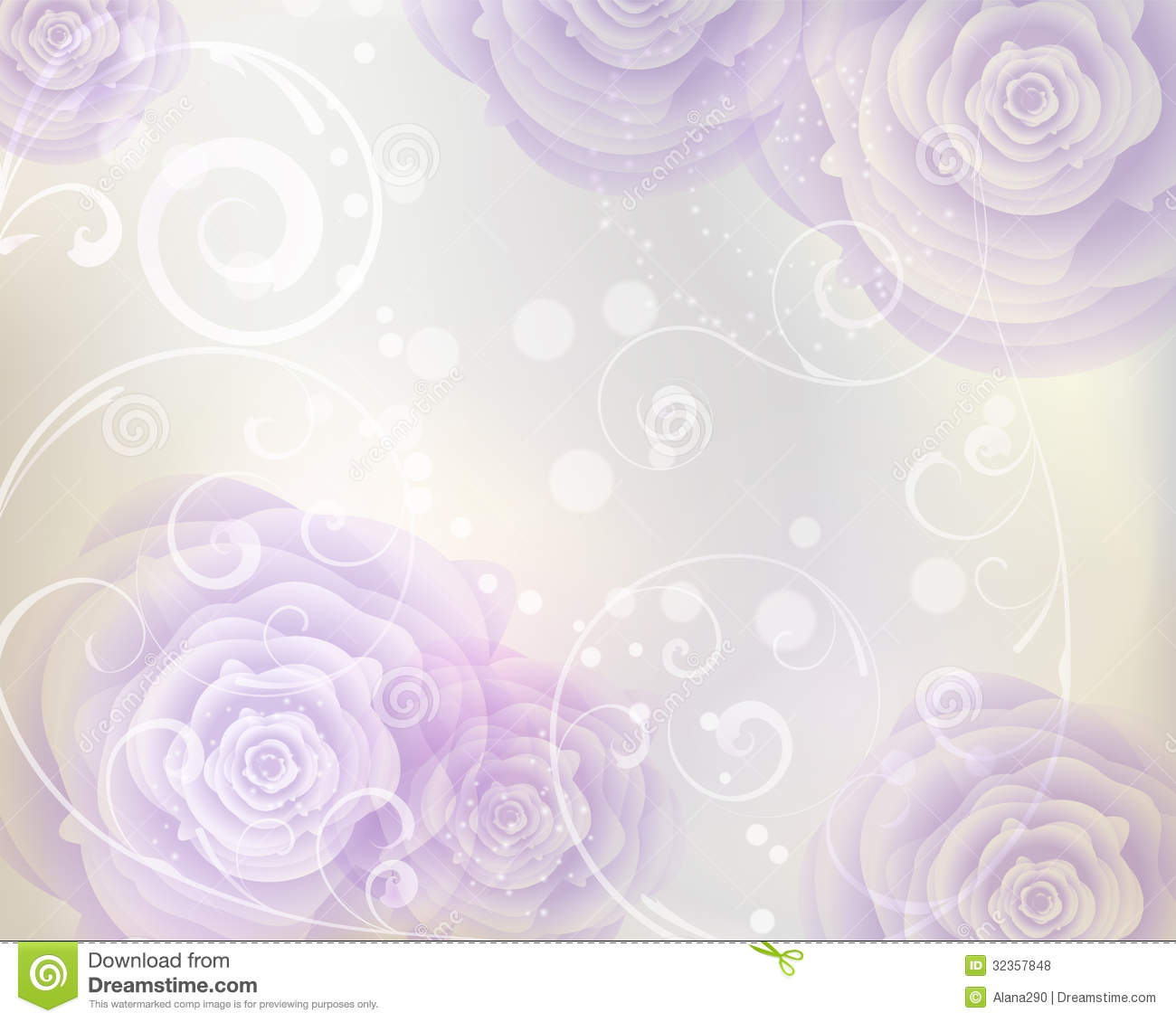 swirly roses background bouquet - photo #24