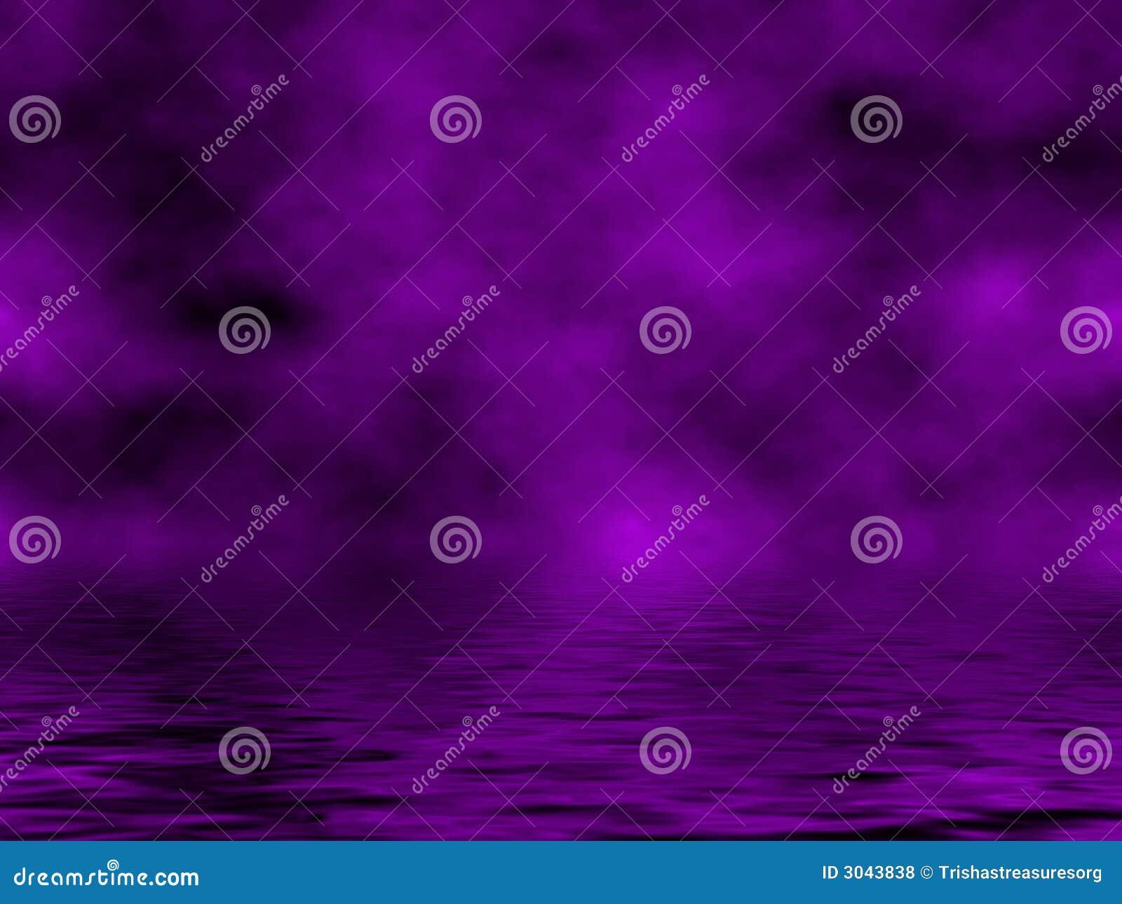 Purple Sky & Water