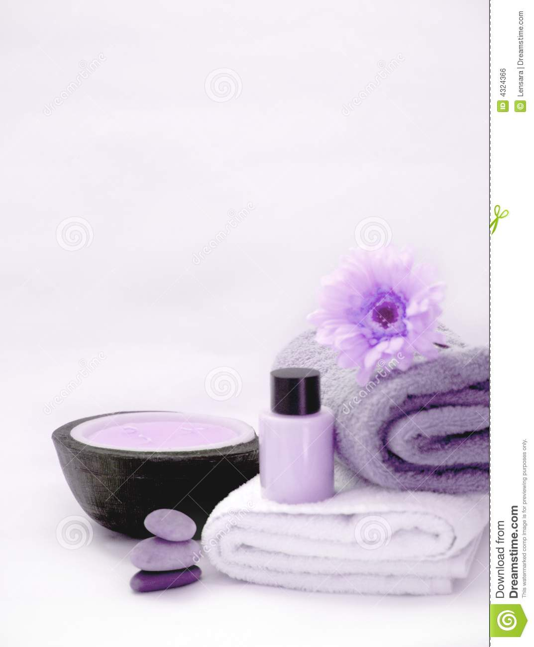 Purple spa still life royalty free stock image image for Spa smelling candles