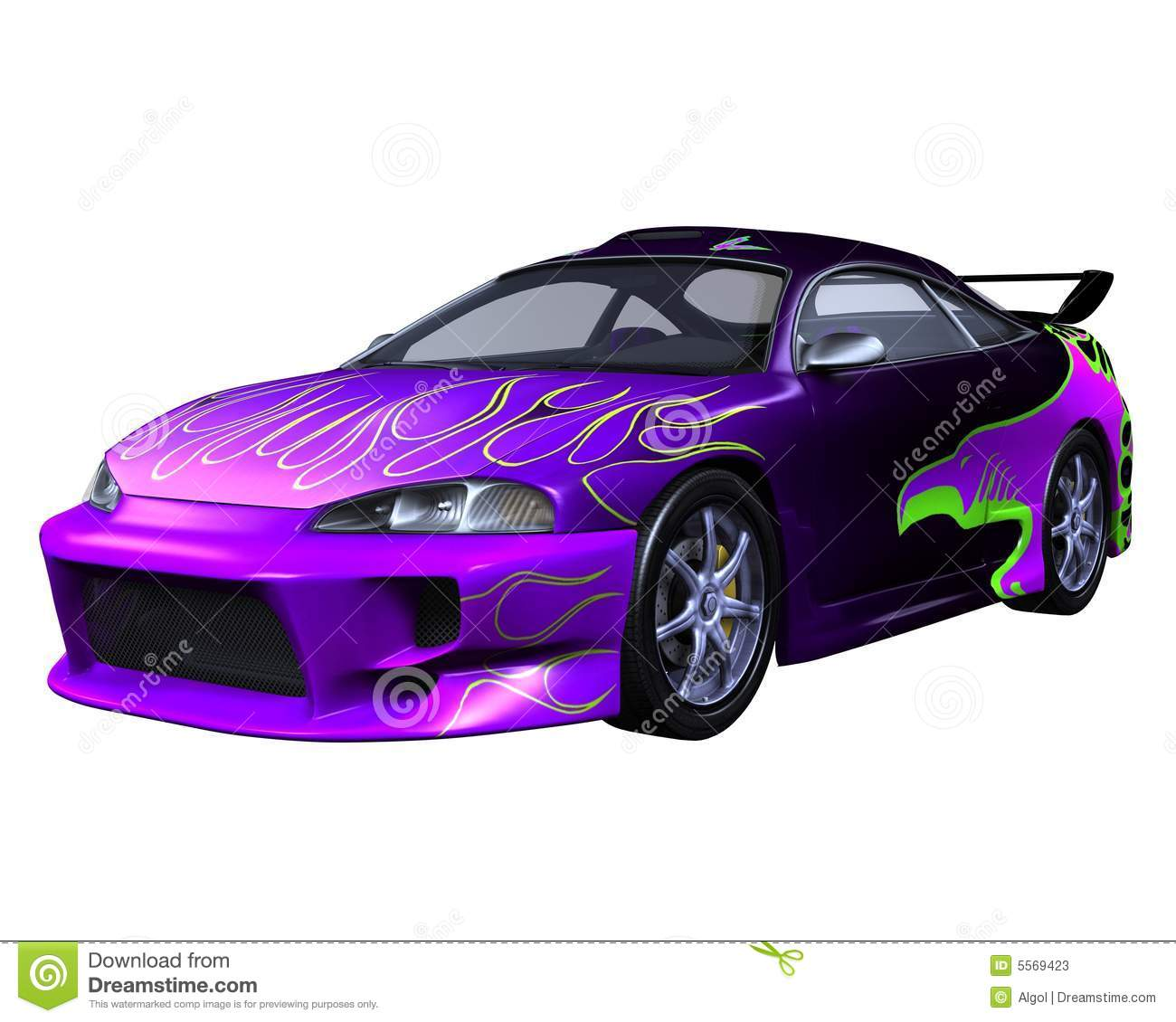 purple sports render preview dreamstime