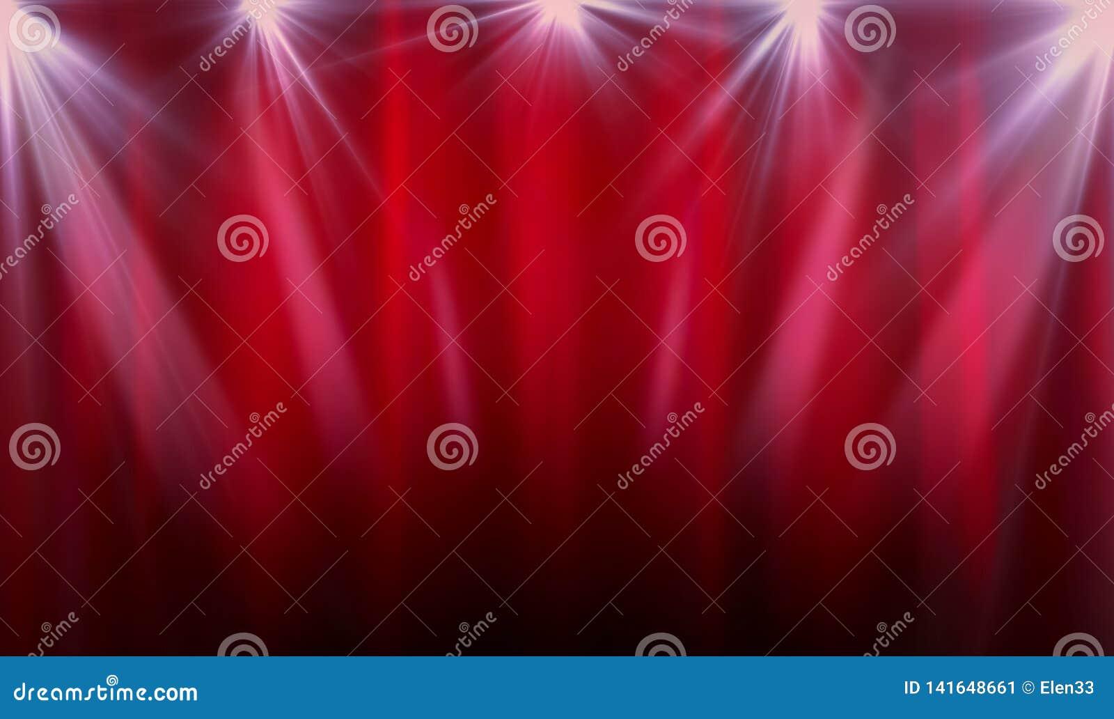 christmas curtains spotlight