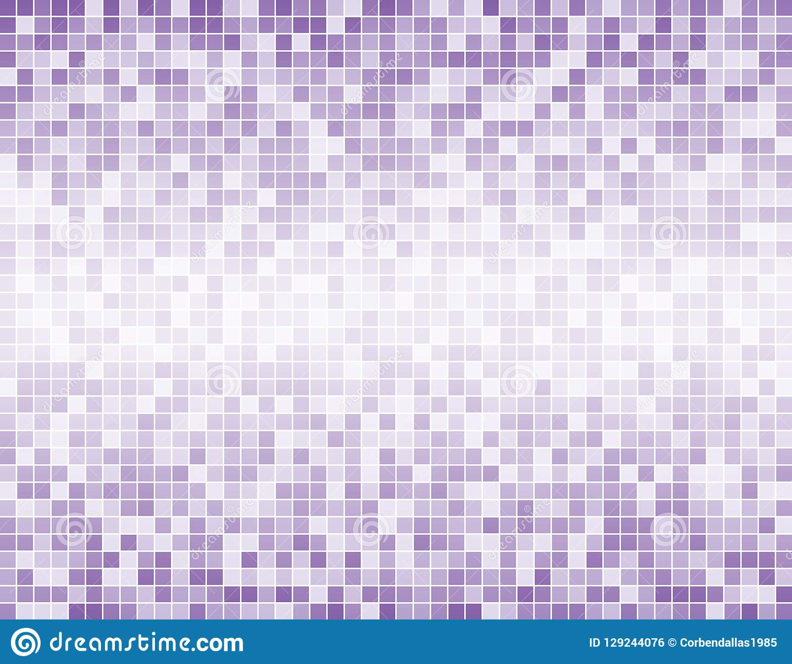 The Light Purple Square Mosaic Tiles Background Stock Vector Illustration Of Fade Element 129244076