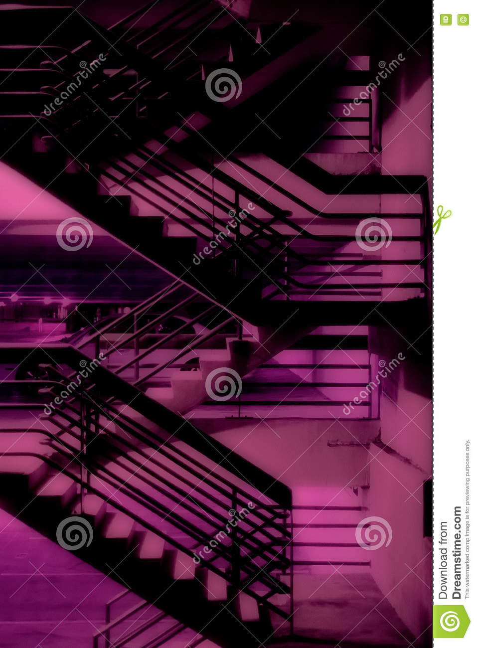 Download Purple Stairway stock image. Image of stairs, architecture - 70957057