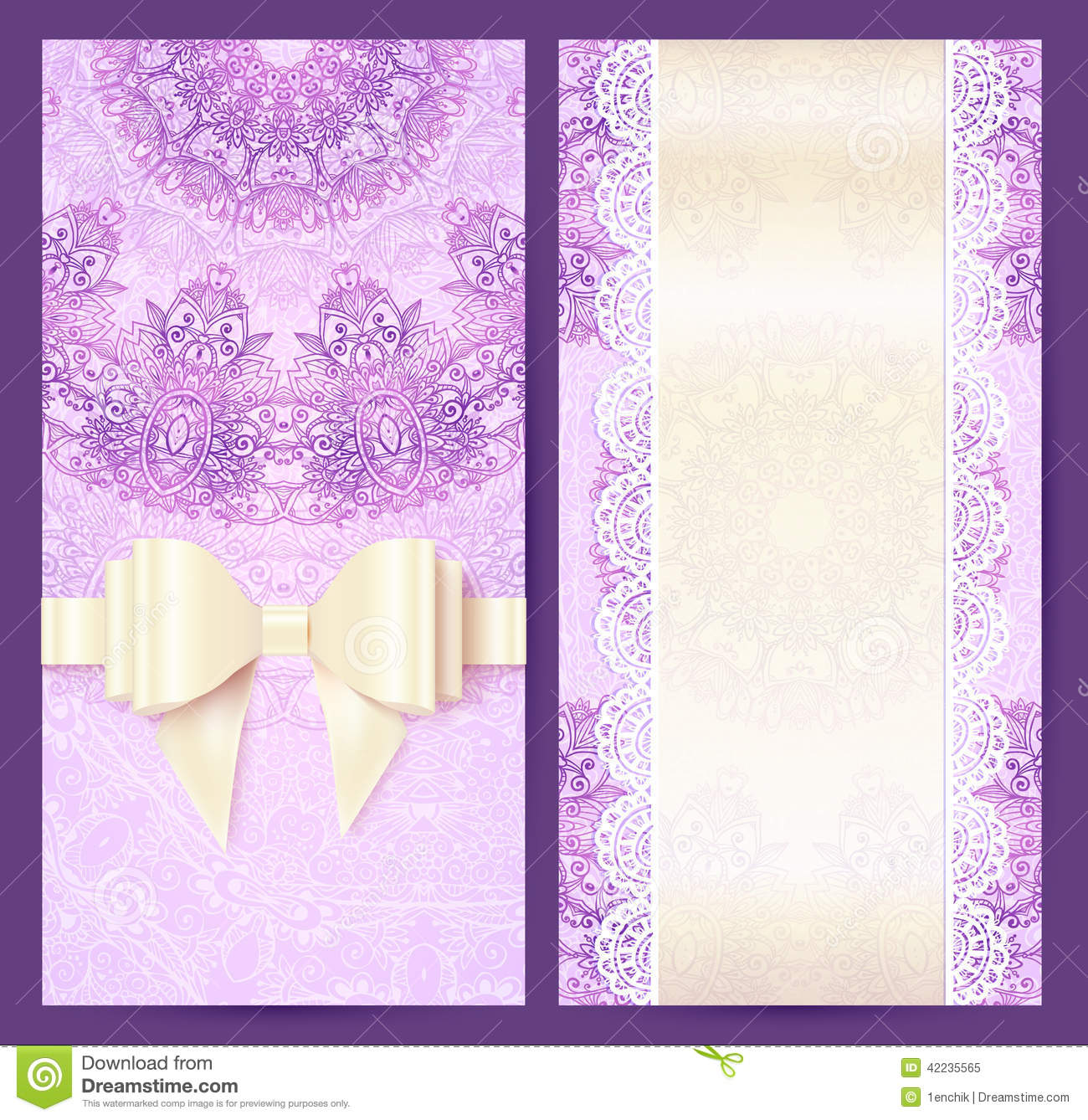 purple wedding invitation templates free