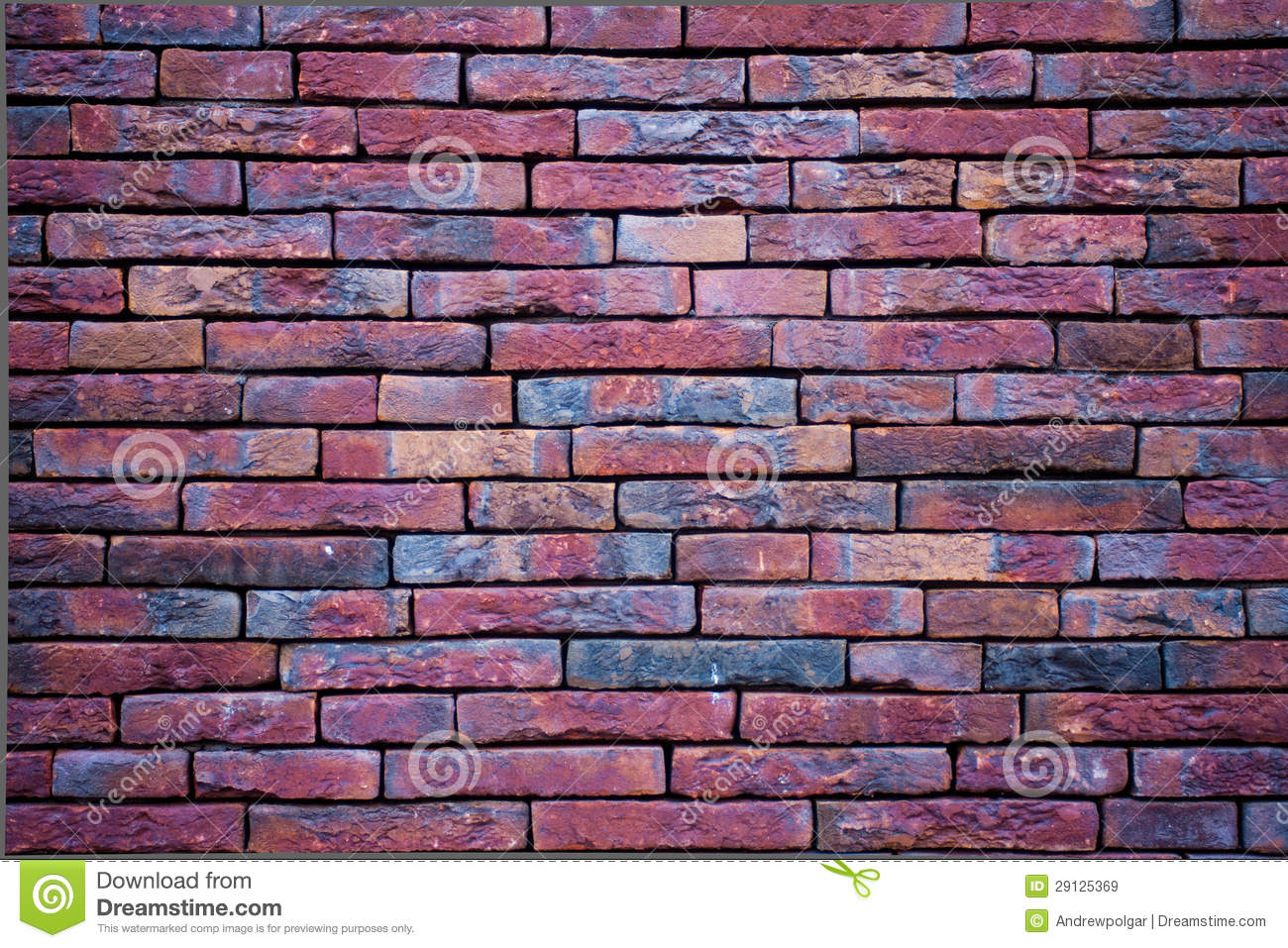 Purple Wall With Slim Bricks Royalty Free Stock Images ...