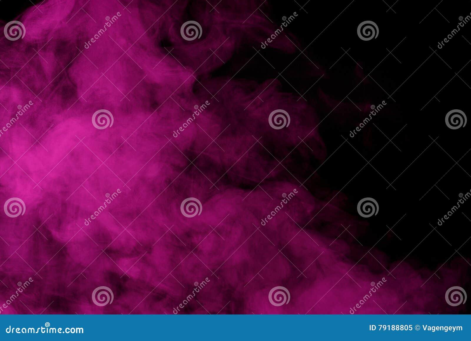 Purple water vapor