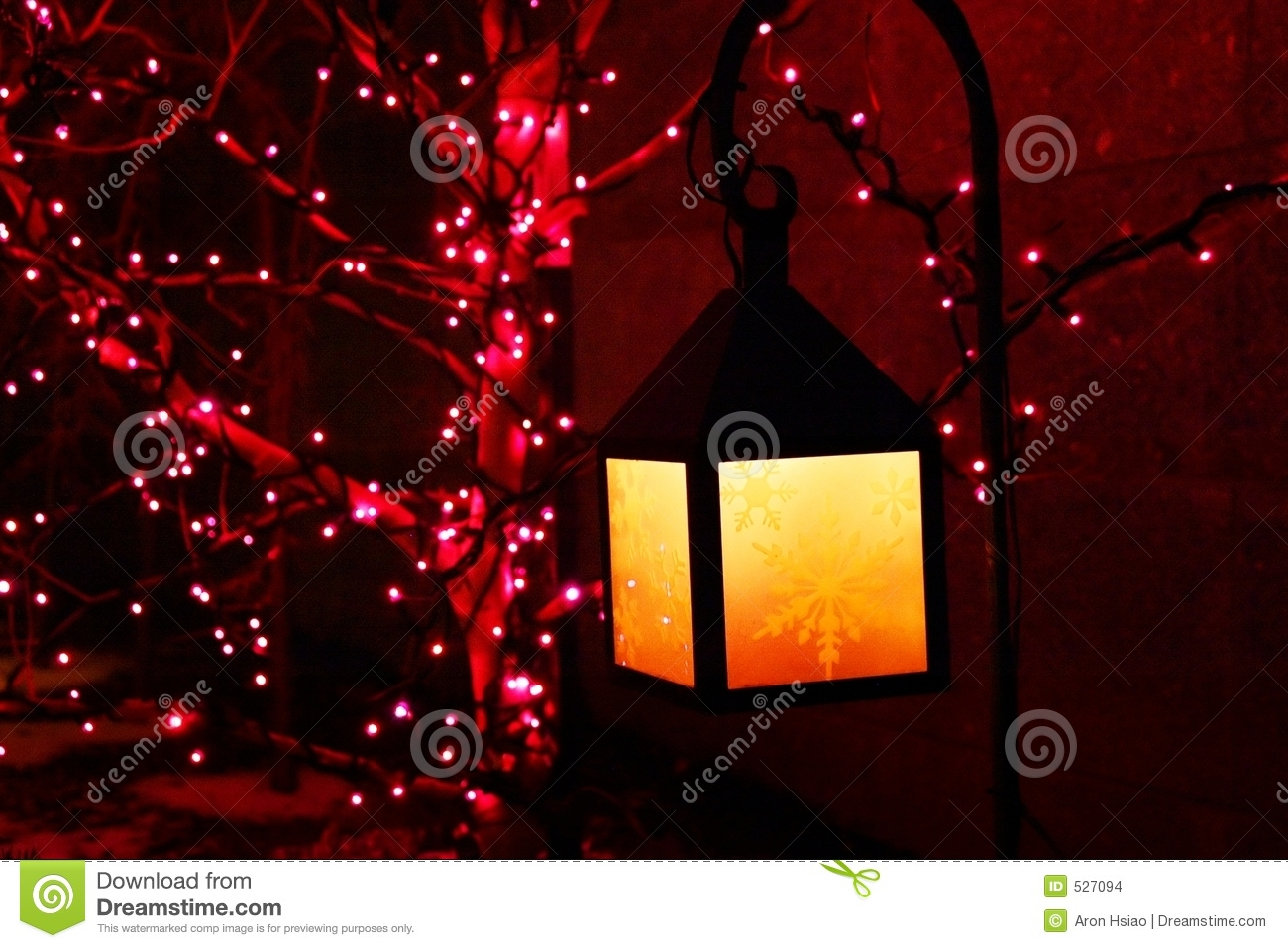 Purple And Yellow Holiday Decorations Stock Images - Image: 527094