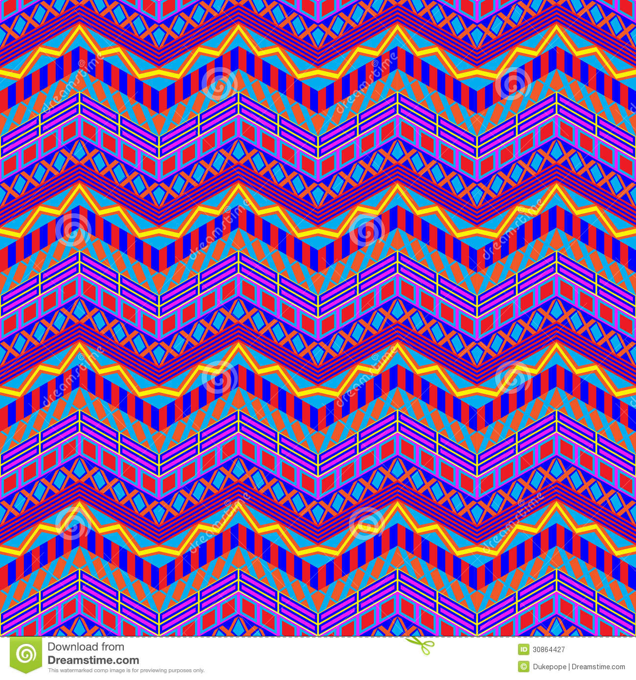the gallery for gt colorful chevron fabric
