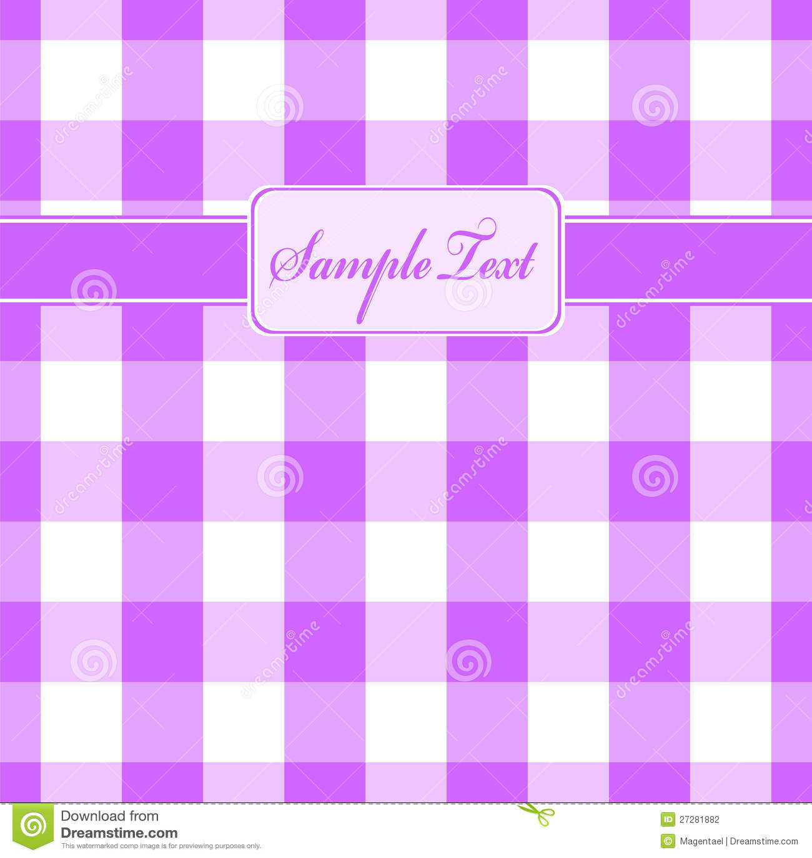 Purpur pläd