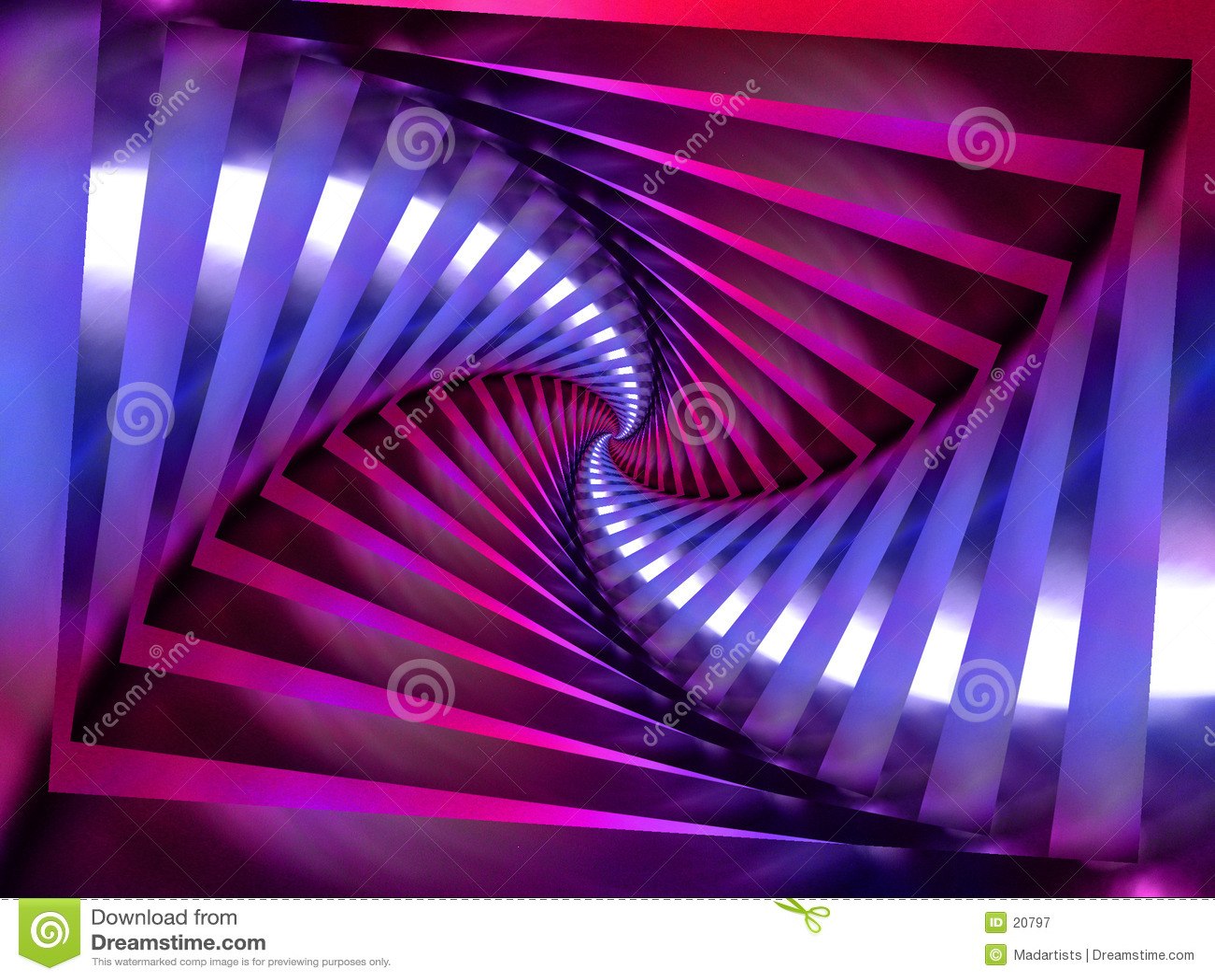 Purpur spiral swirl för bakgrund