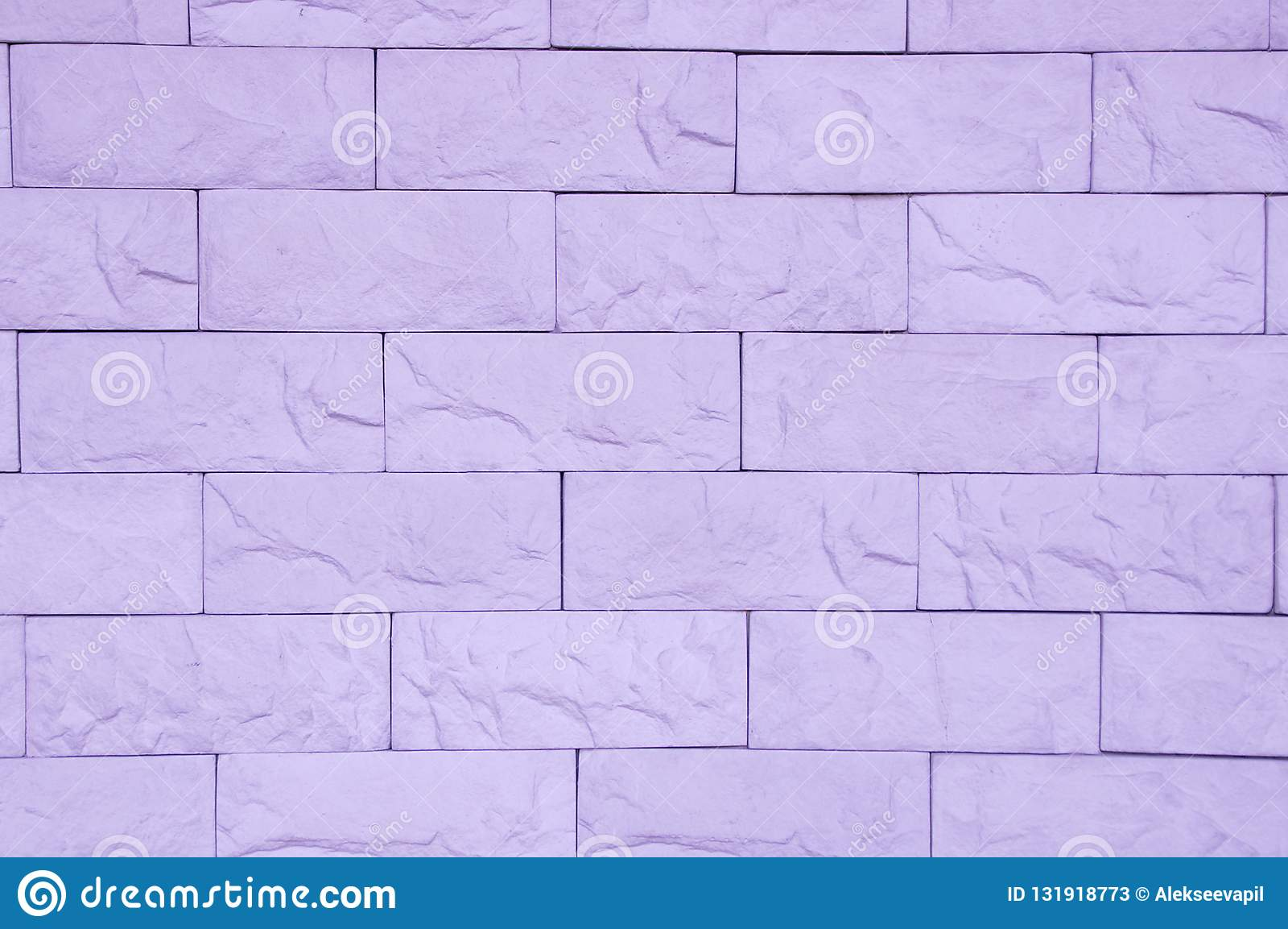 Purpurfärgad textur för tegelstenvägg
