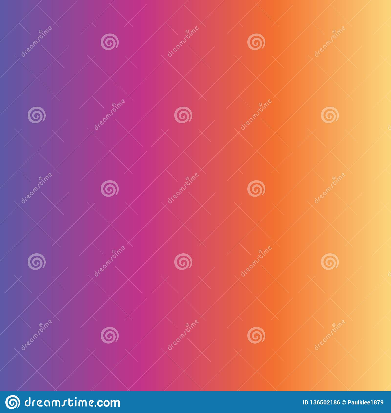 Purpurfärgat rosa orange gult blekna för abstrakt lutningbakgrund