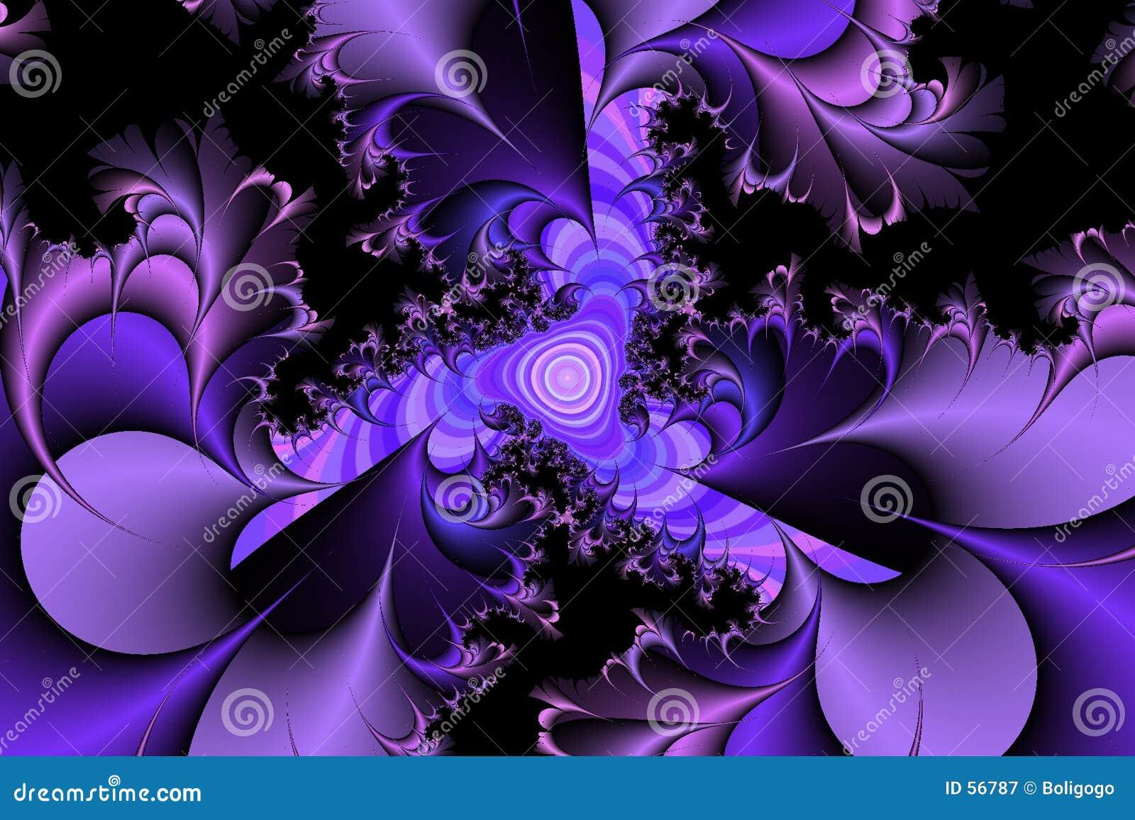 Purpurowe kolce