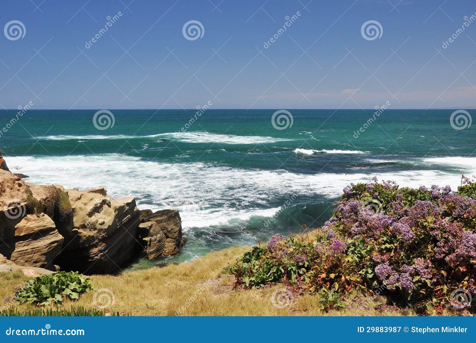 San Diego nabrzeżny widok