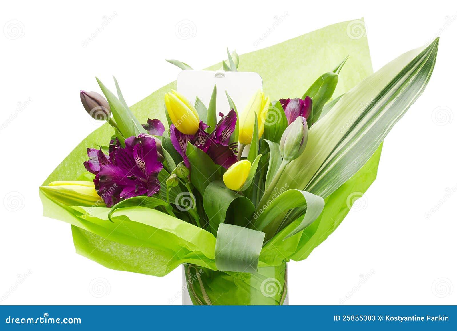 Purpurrote Alstroemeria-Blumen