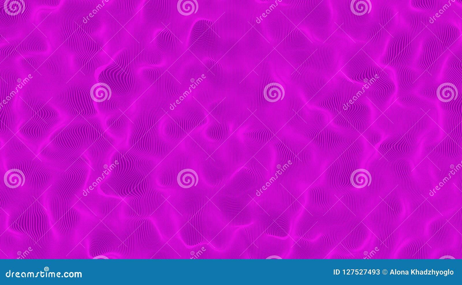 Purpurrote Wasseroberfläche Tiefvioletter moderner Seehintergrund