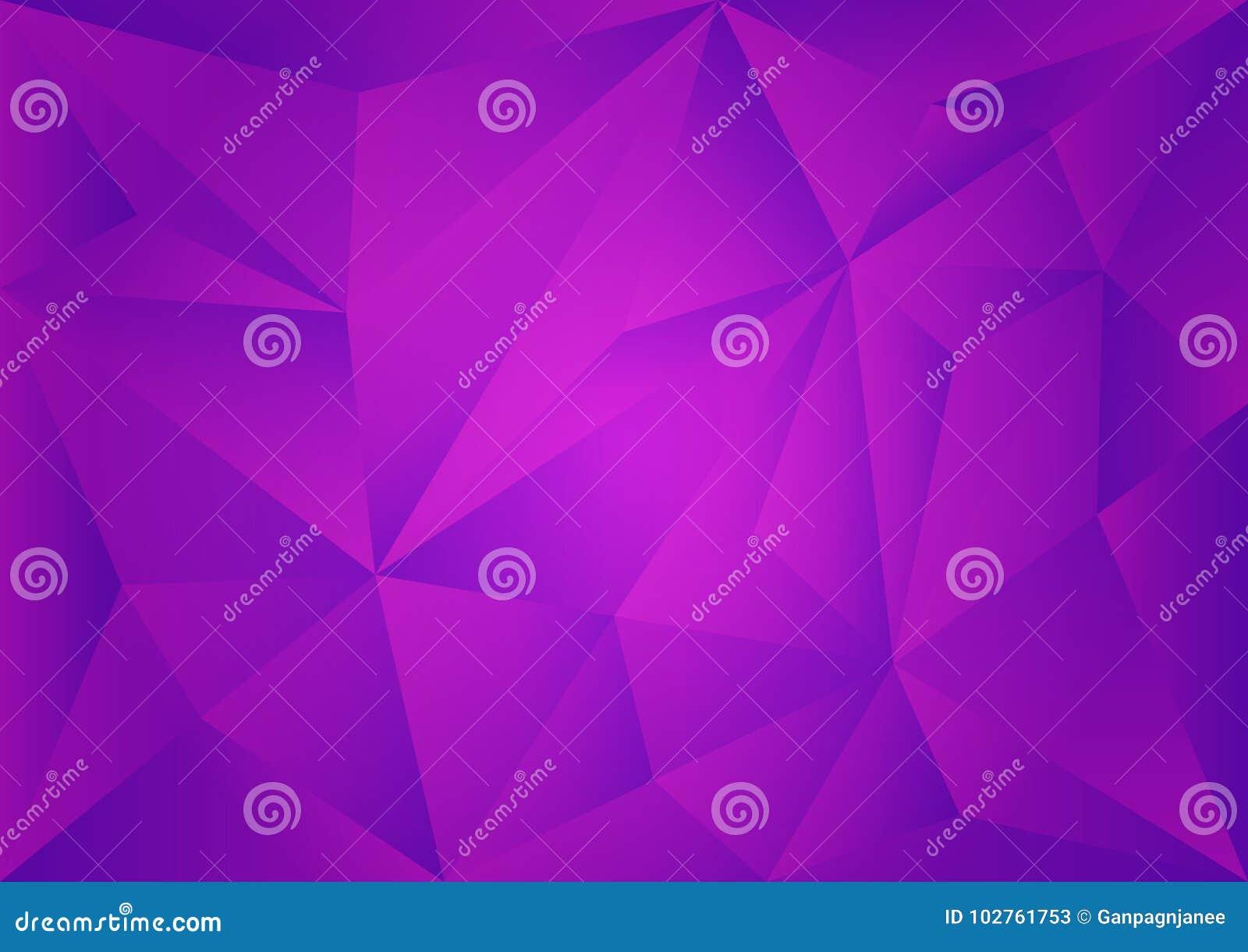 Purpurroter polygonaler Hintergrund, Vektorillustration, abstrakte Beschaffenheit