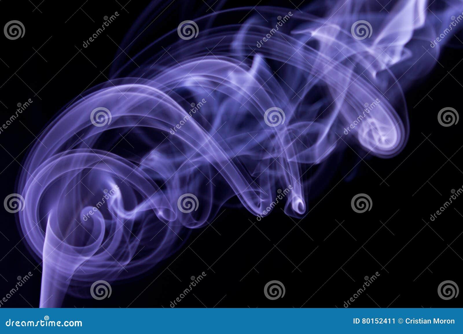 Purpurroter Rauch-Auszug
