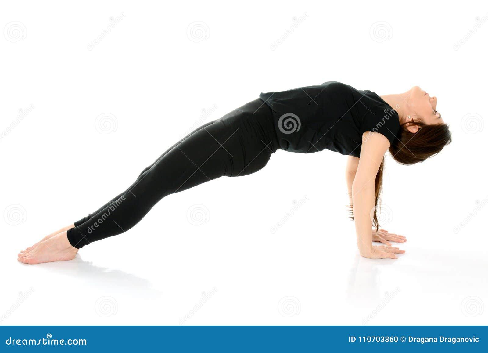 Purvottanasana upward plank pose yoga, Purvottansana as a Chaturanga Counterpose