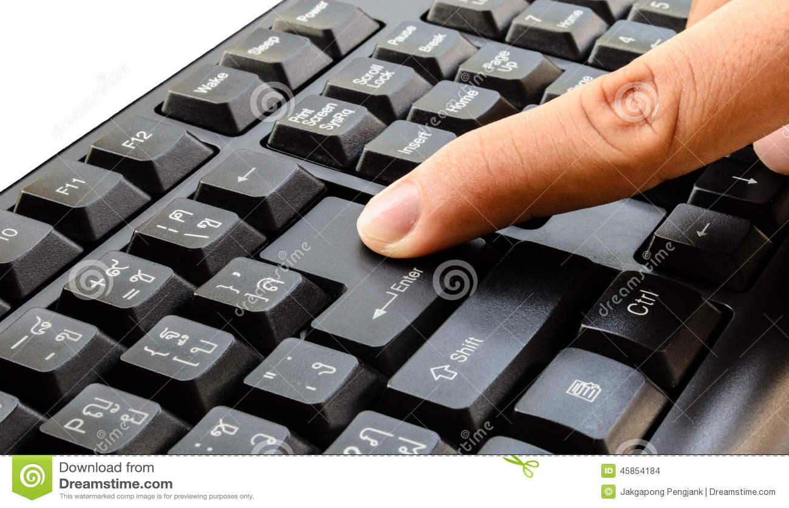 Push keyboard