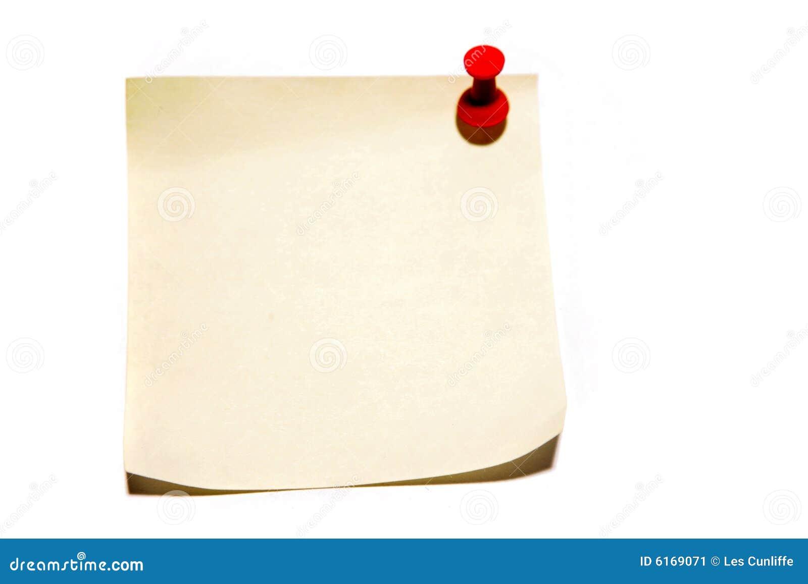 Pushing Paper