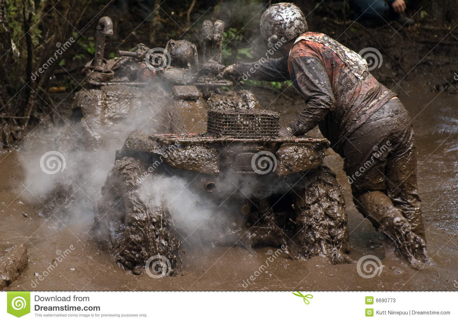 Pushing Through Dirt