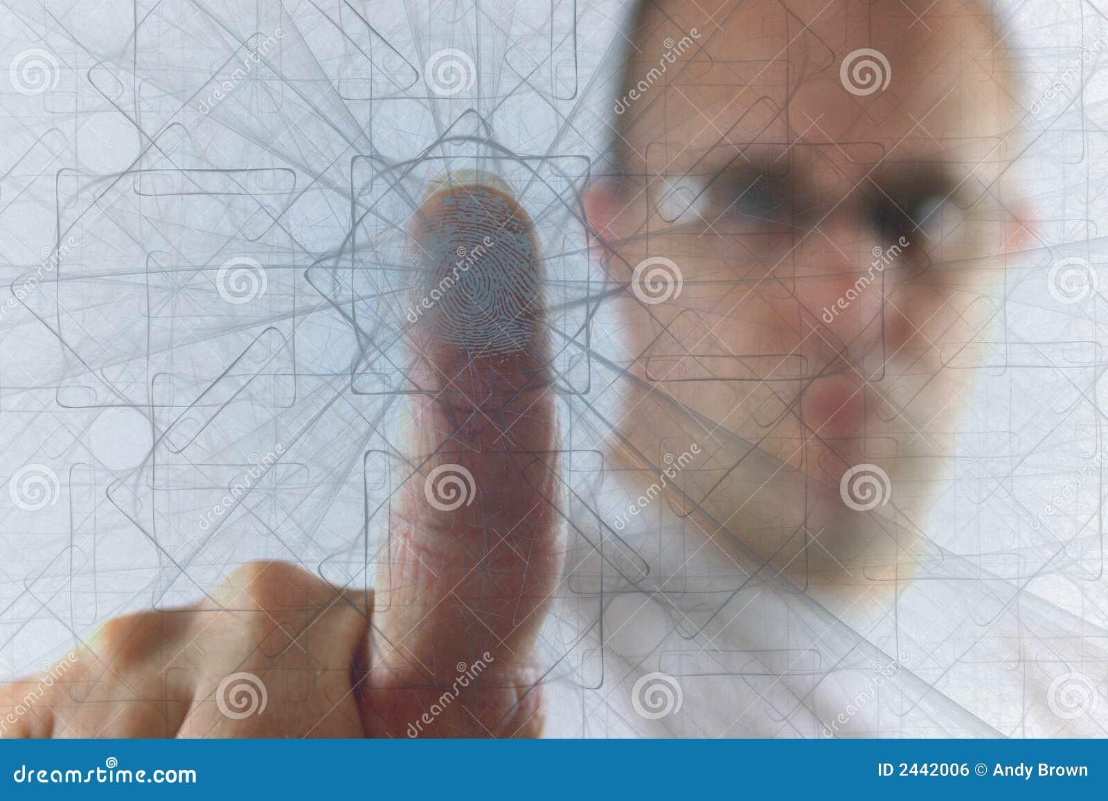 Pushing through the web