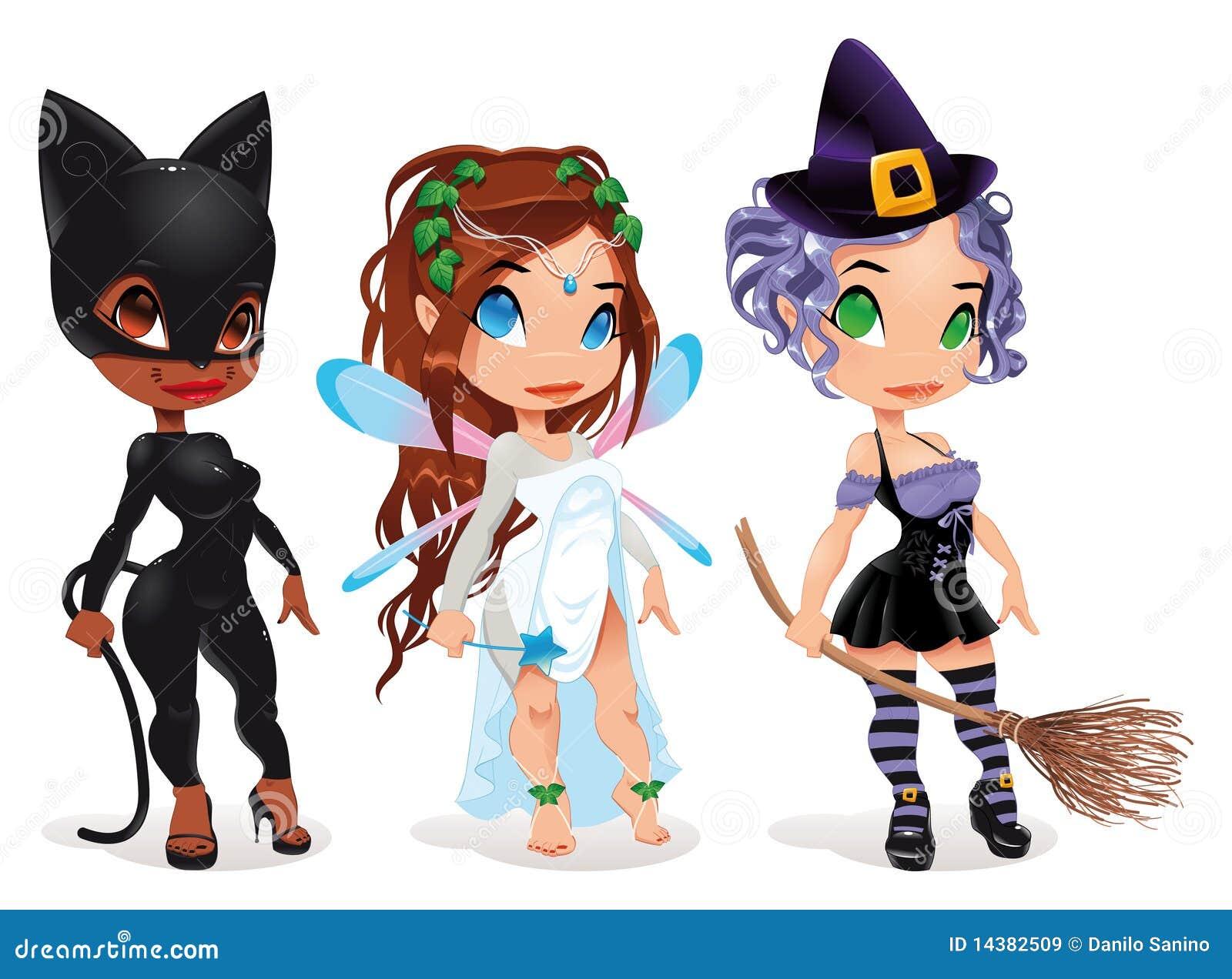 Pussy, Fairy e strega.