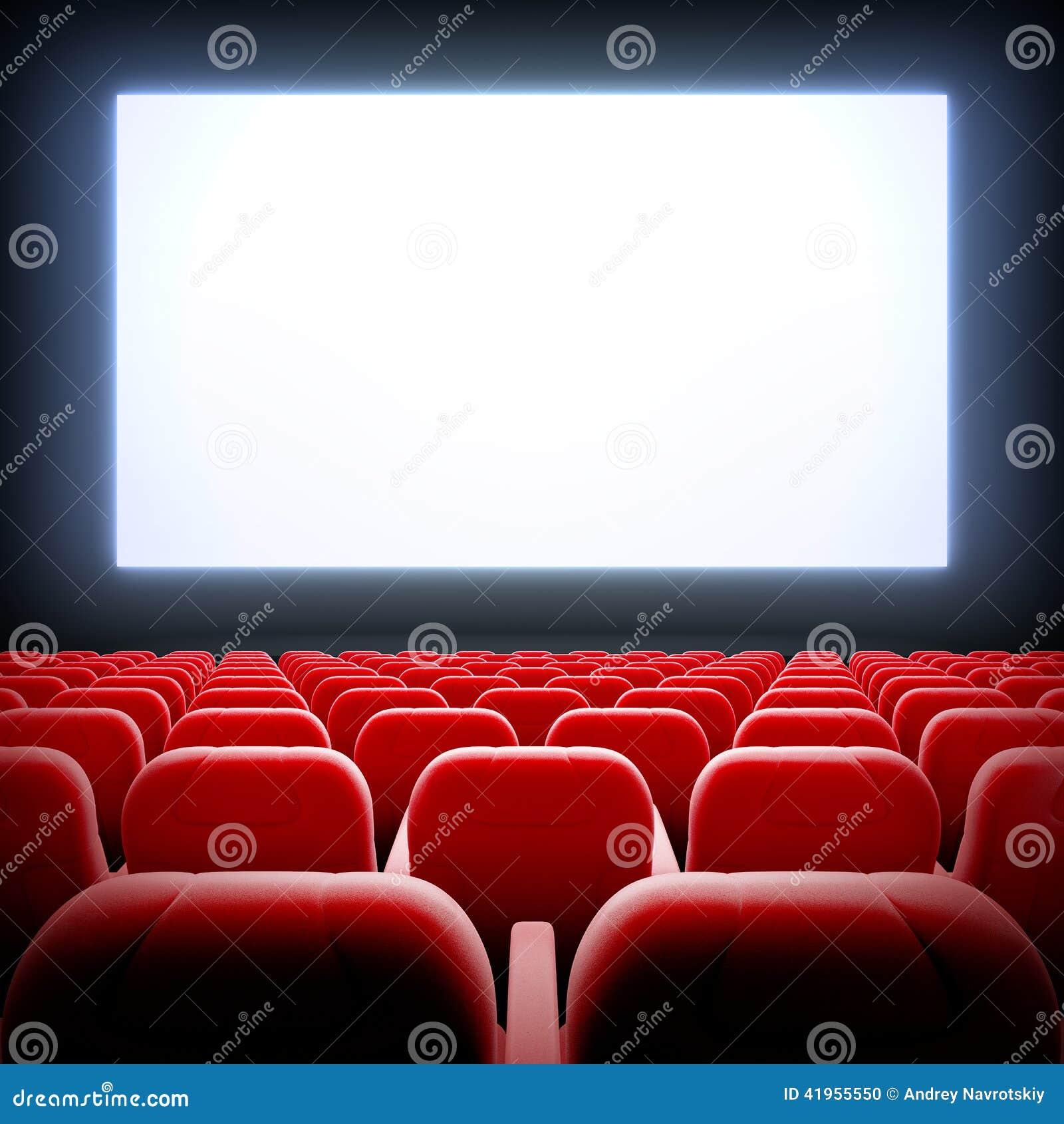 Pusta kino sala