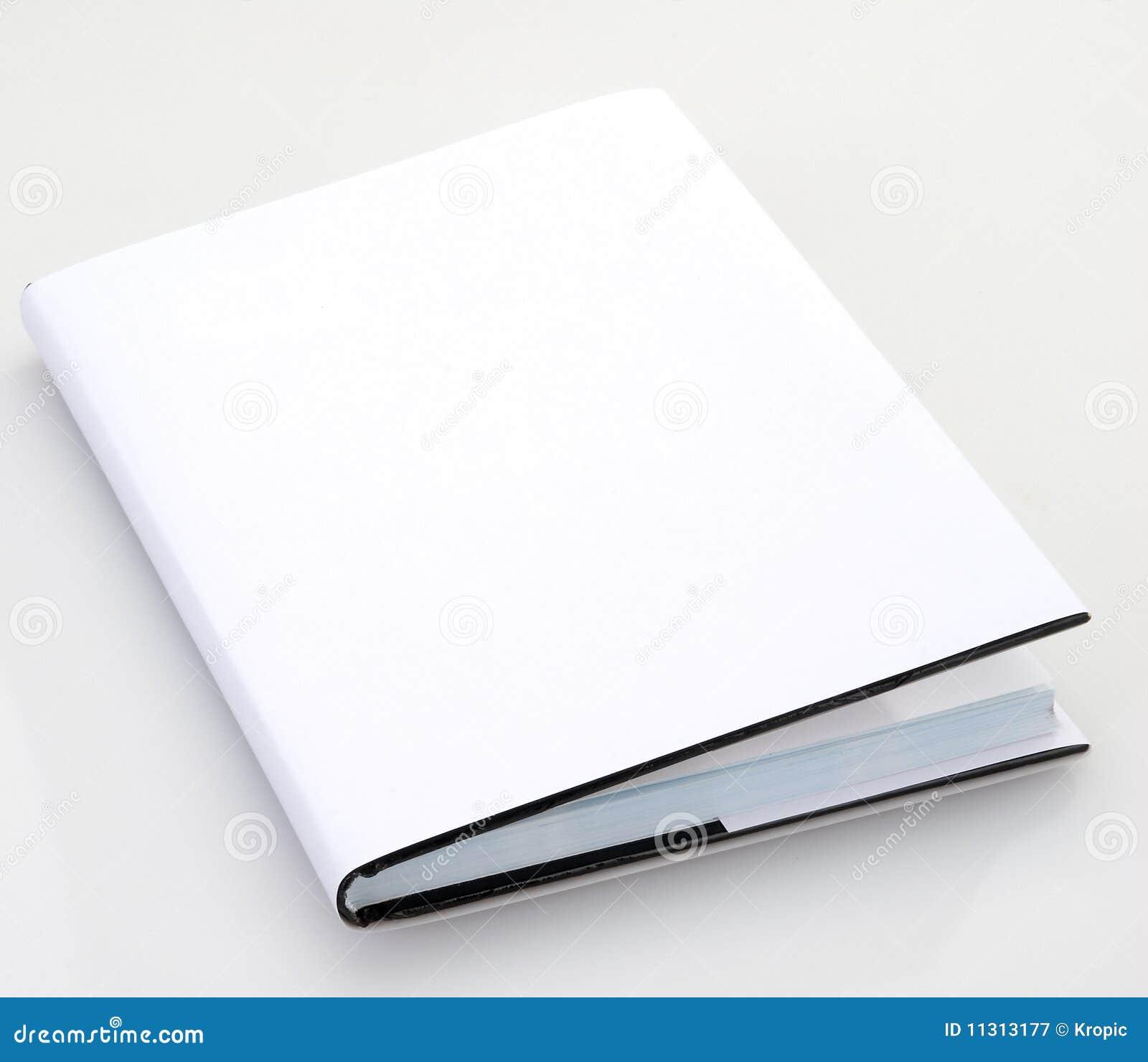 Pusta książkowa pokrywa