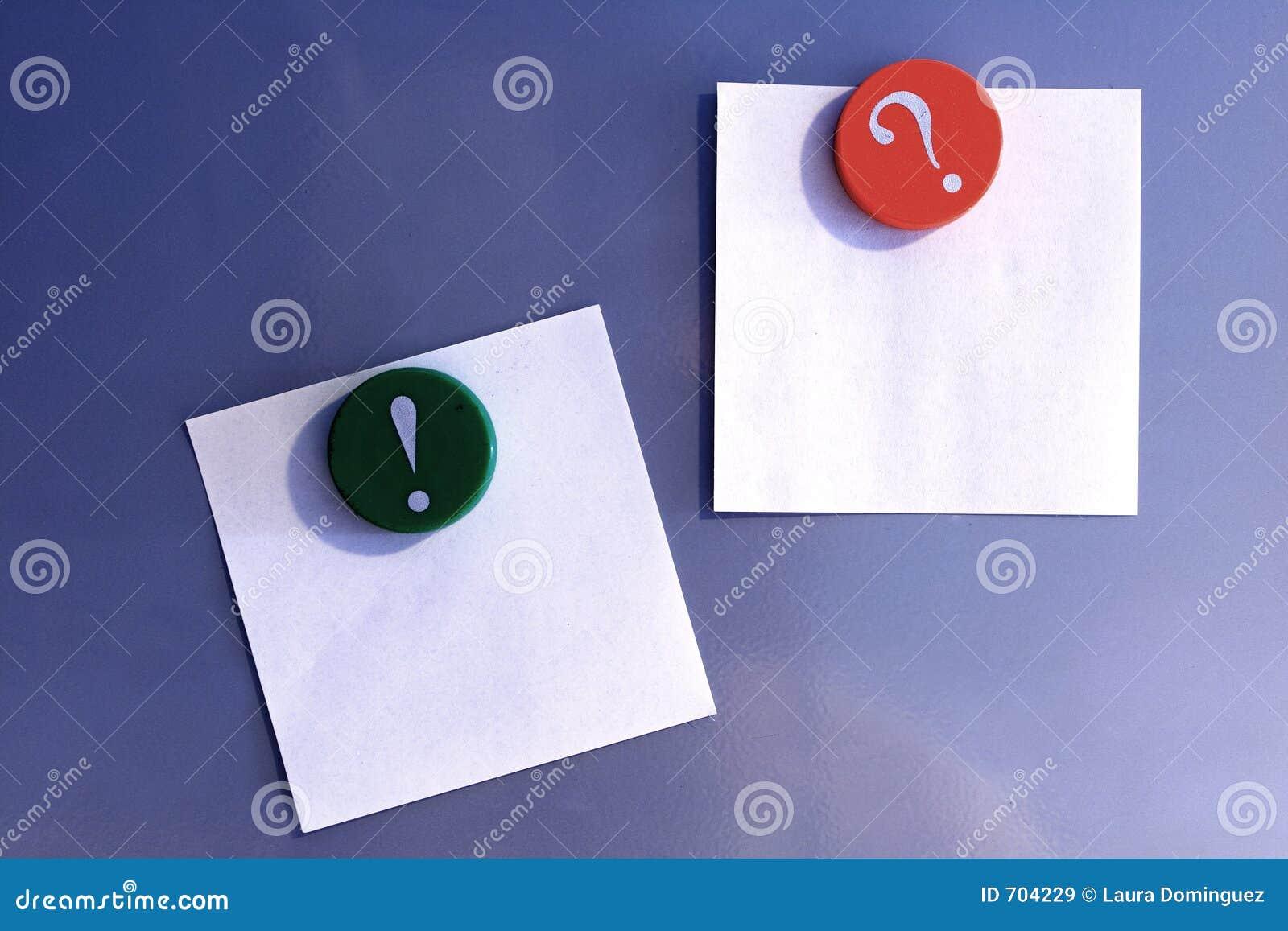 Pusta magnes notatek pocztę