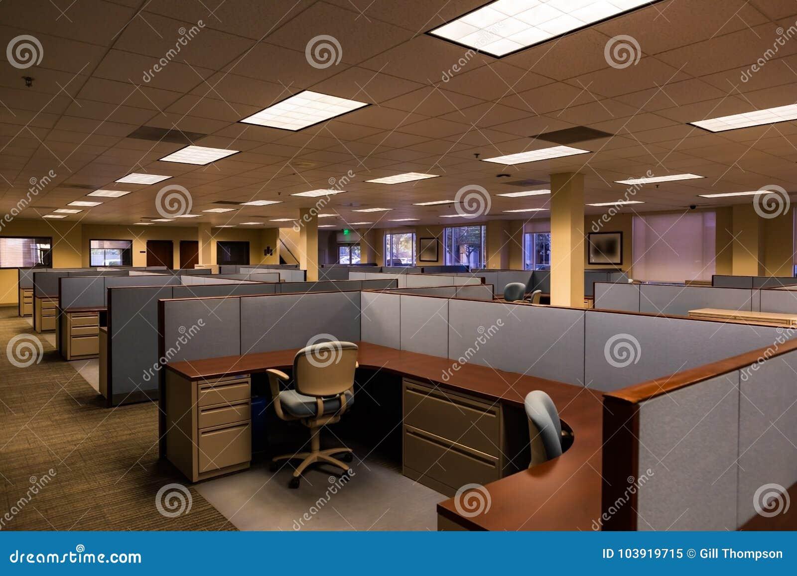 Pusta przestrzeń biurowa