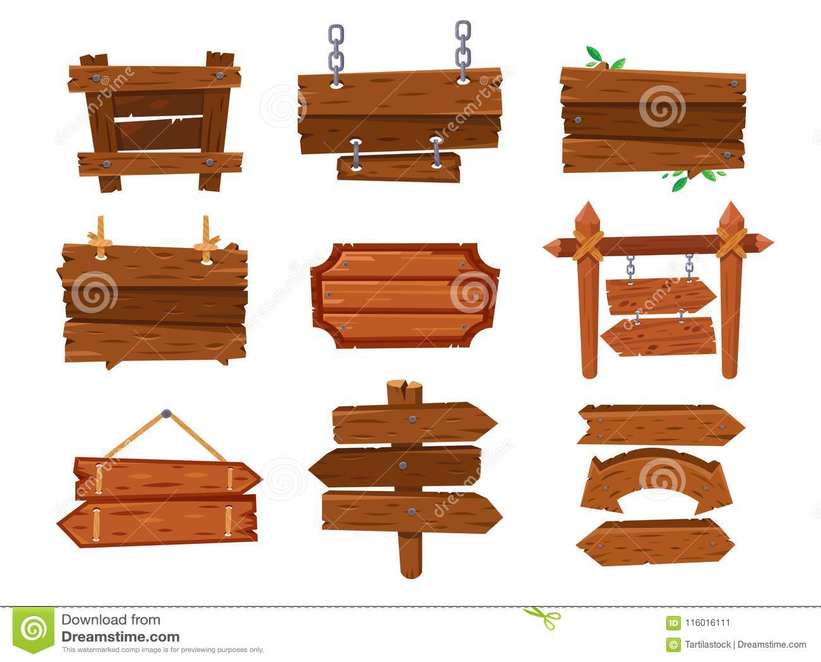 Pusta rocznik kreskówki drewna znaka deska lub zachodni czysty signboard Stary nieociosany strzała kierunkowskaz, sklejkowy drewn