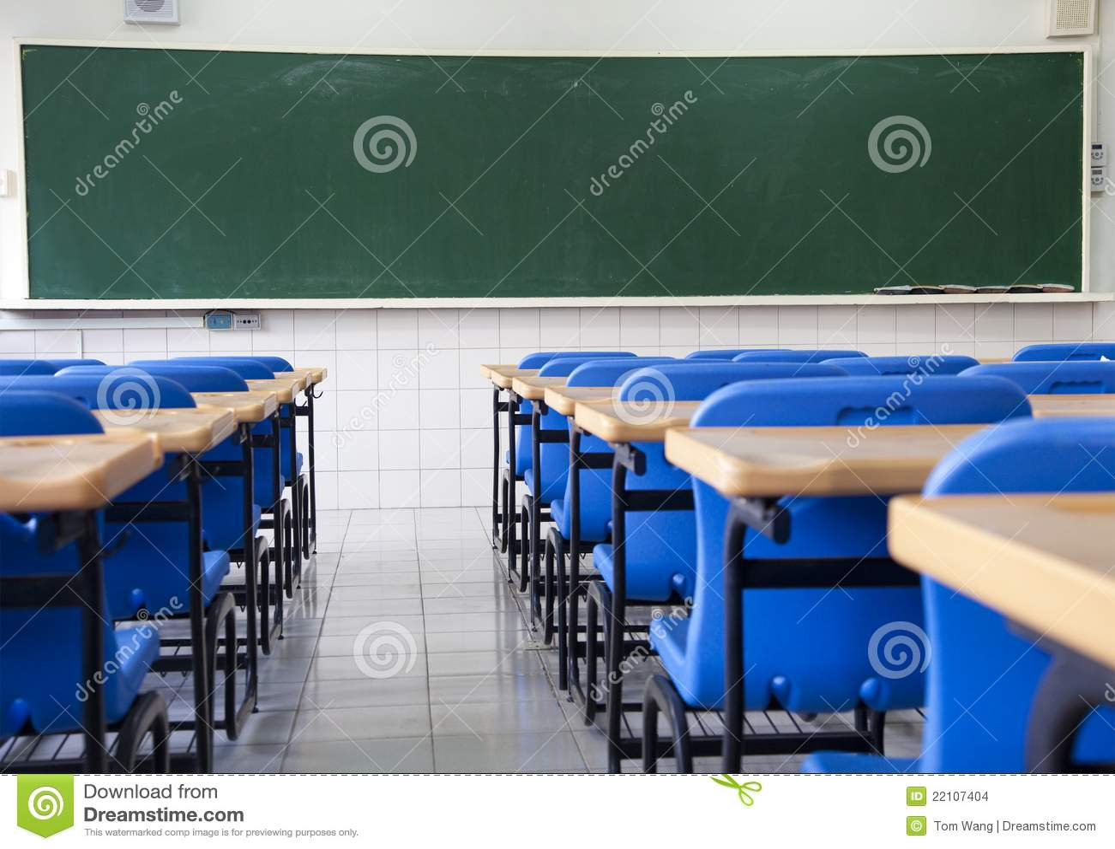 Pusta sala lekcyjnej szkoła