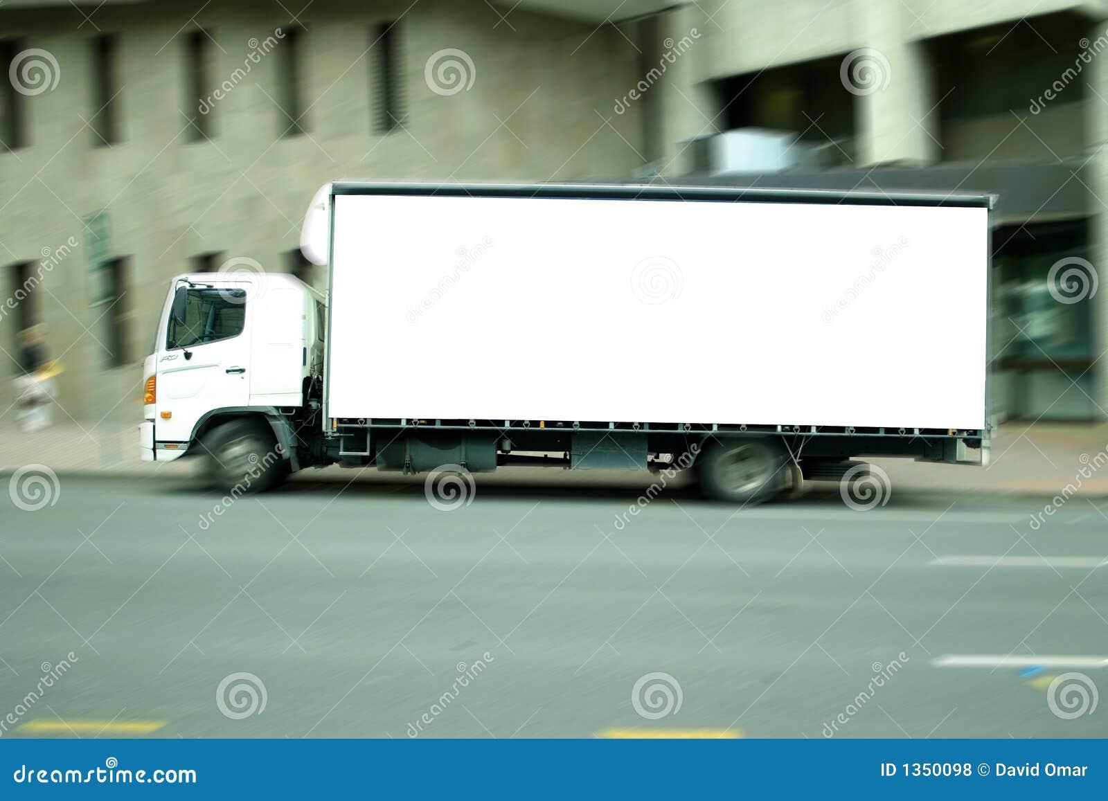 Puste ciężarówki